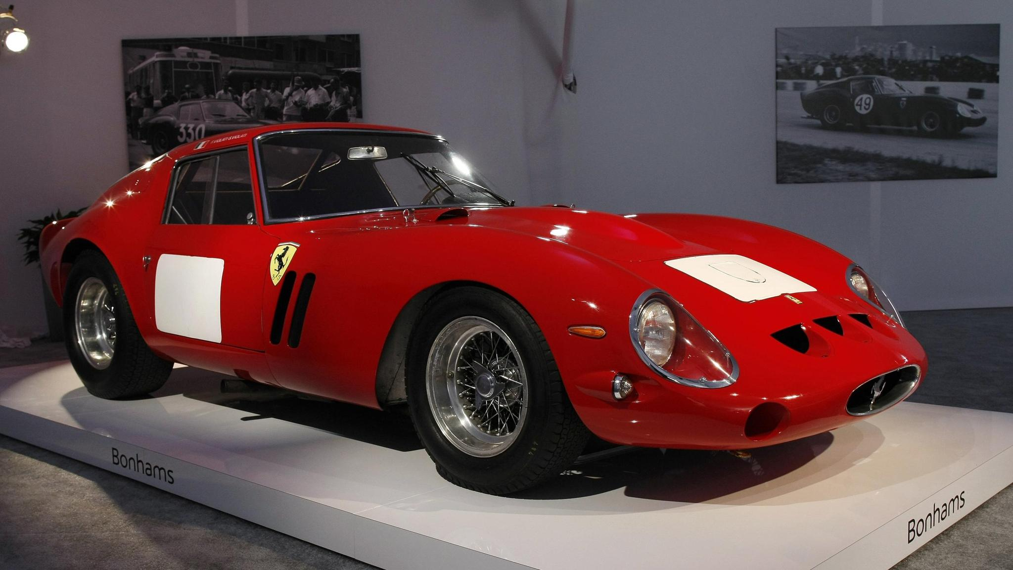 Rare Ferrari Fetches Record 38m At Auction Financial Times