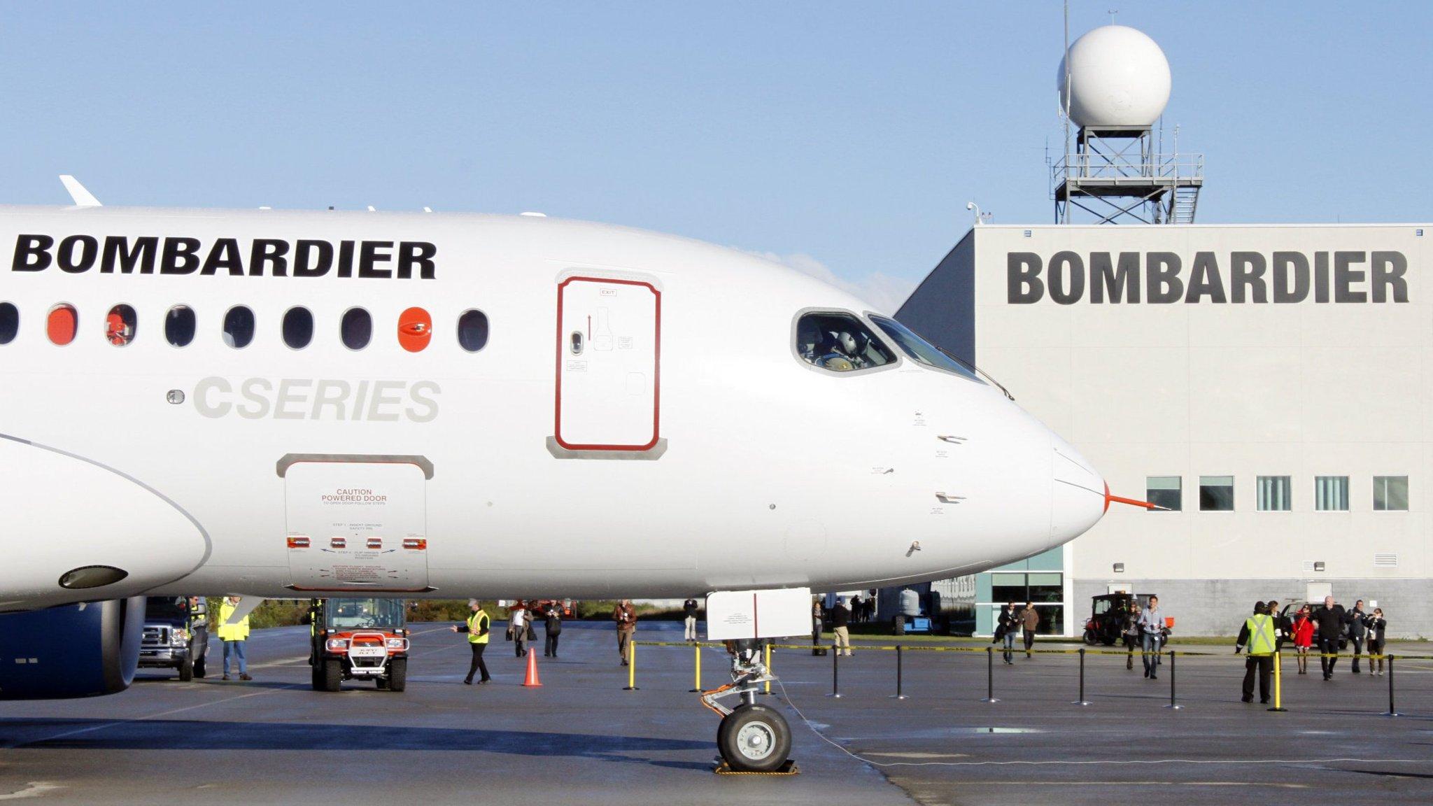 Resultado de imagen para Bombardier CSeries UK