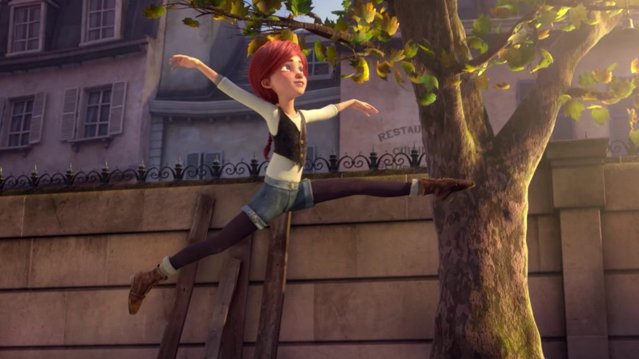 film review ballerina a  ical and visual treat