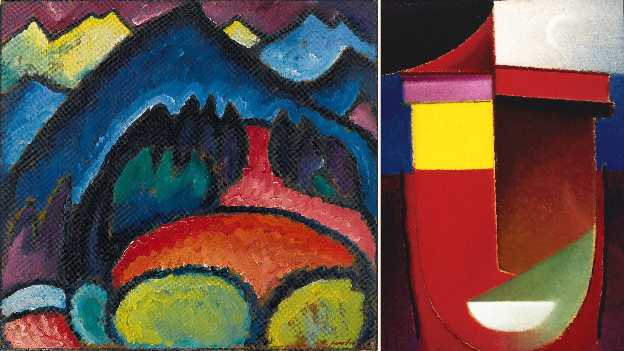 A glowing tribute to Alexei Jawlensky at