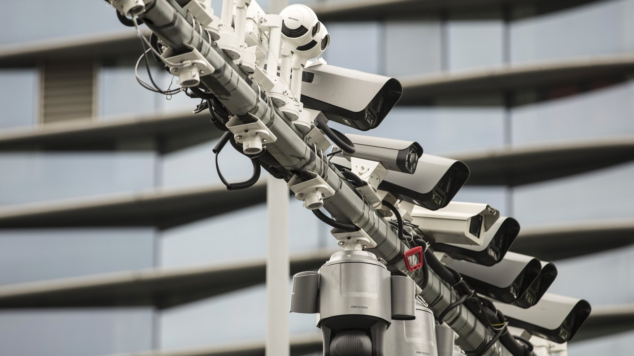 2,000 Chinese-made surveillance cameras across US government