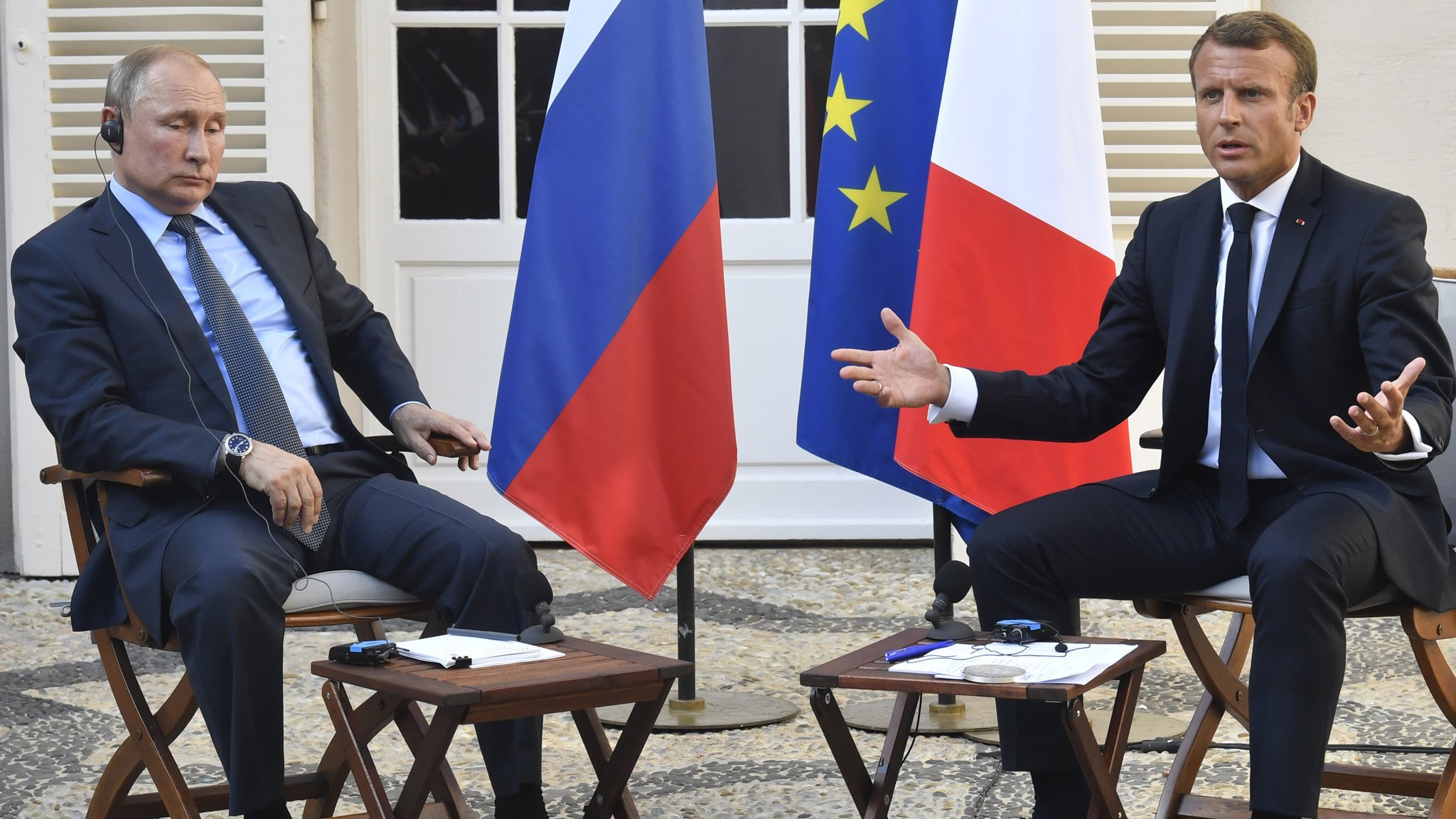 Emmanuel Macron's pivot to Russia sparks EU unease