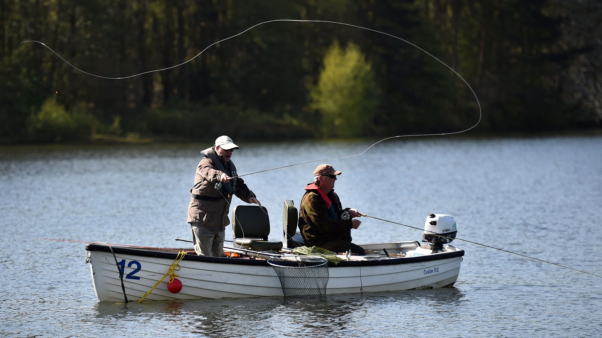 Gone fishing, while casting an eye over investments