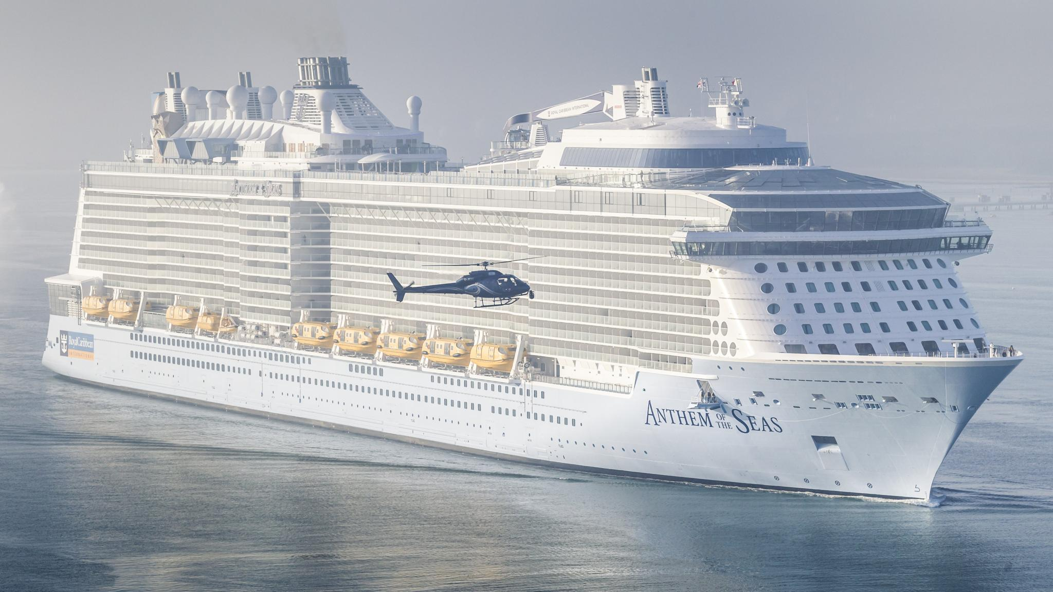 Lucy Kellaway Sets Sail On Giant Cruise Ship Anthem Of The Seas