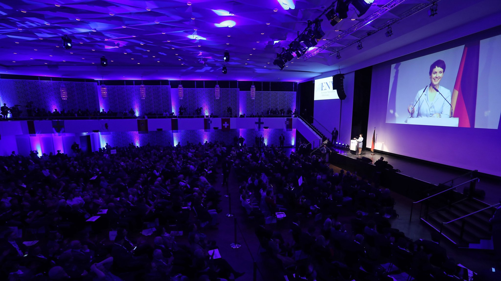 letzte Auswahl online hier Super Qualität Europe's top rightwing politicians gather in Koblenz ...