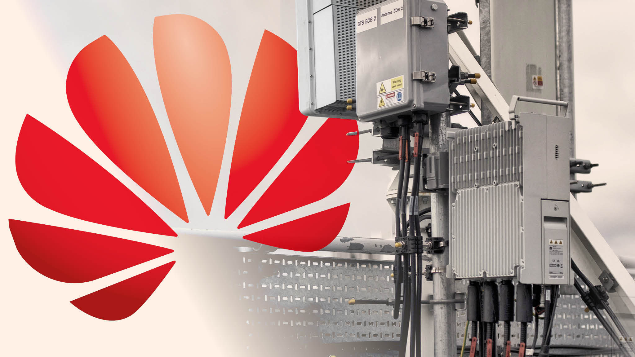What are the main security risks of using Huawei for 5G