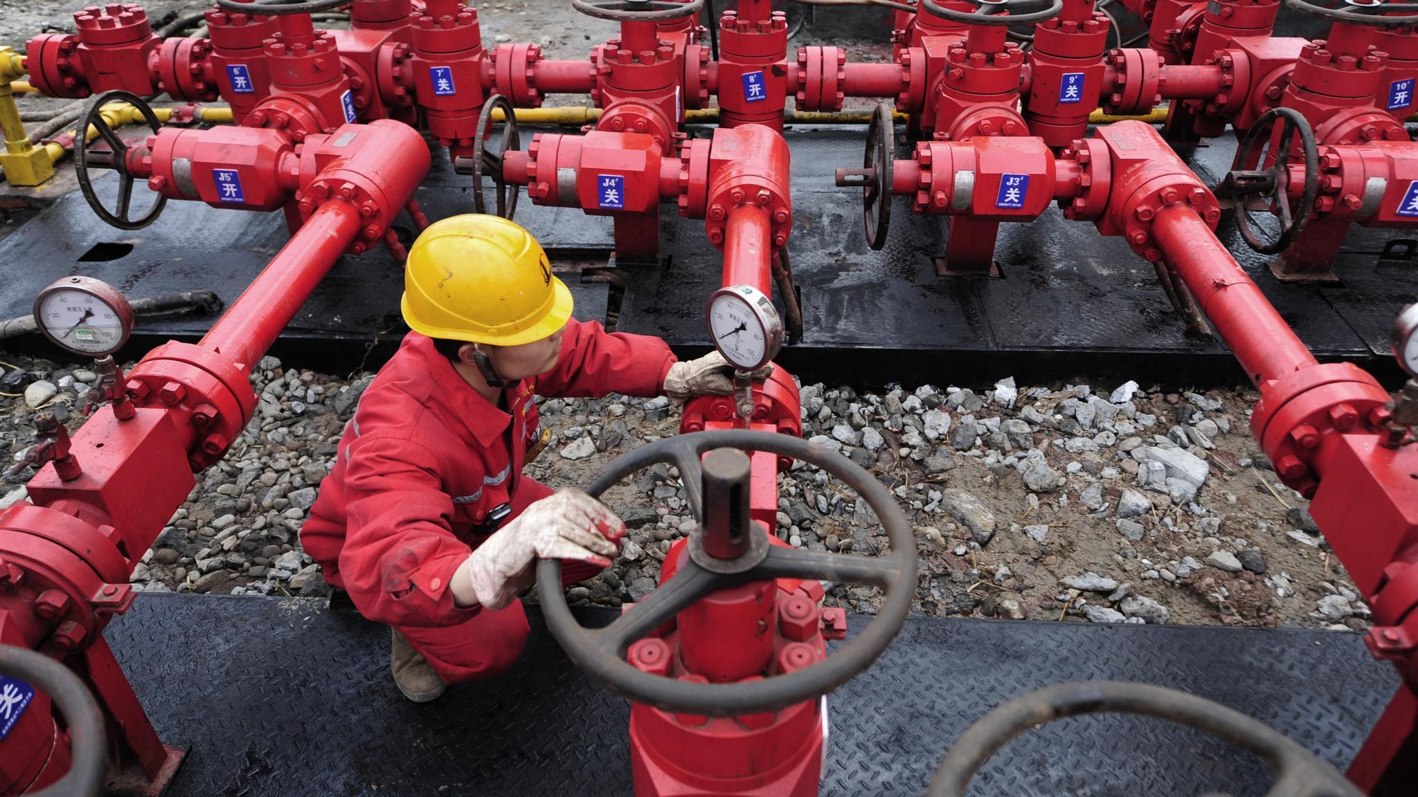 Китай обнародовал свои амбициозные планы по добыче сланцевого газа