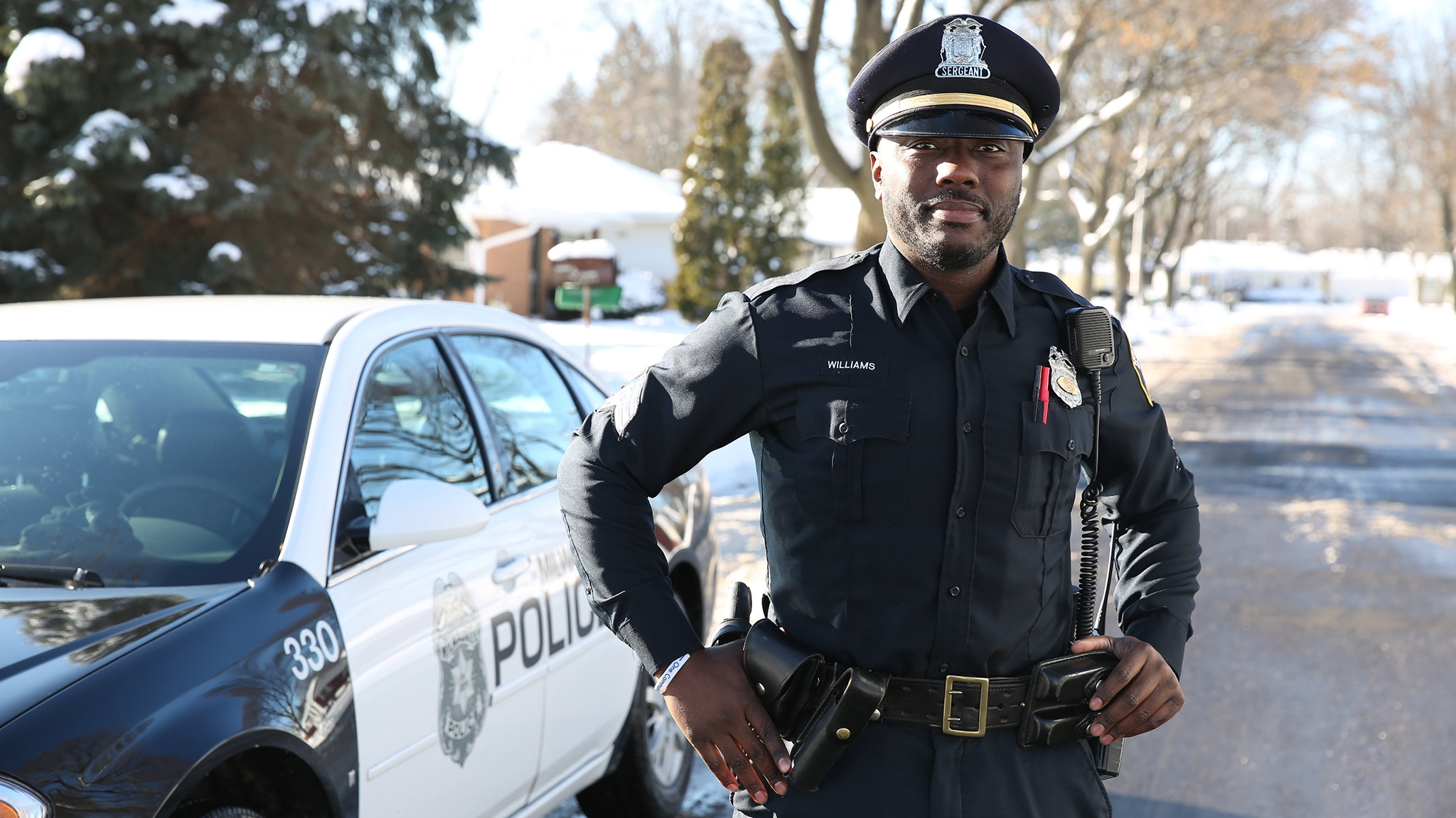 police streetcorner politicians
