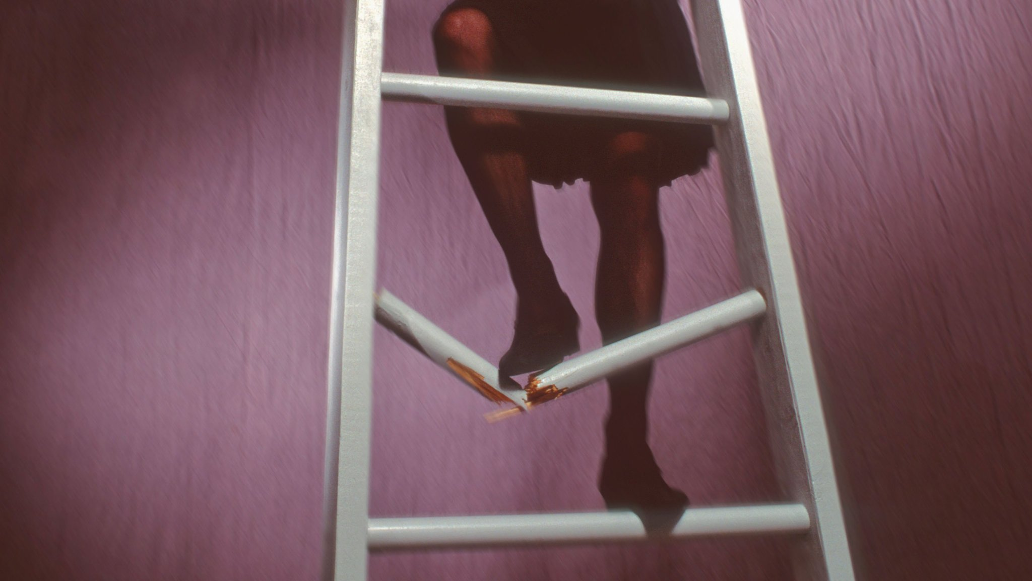 broken step ladder
