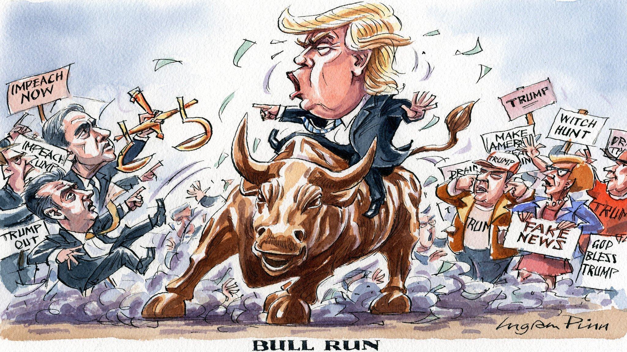 """Résultat de recherche d'images pour """"bull trump"""""""