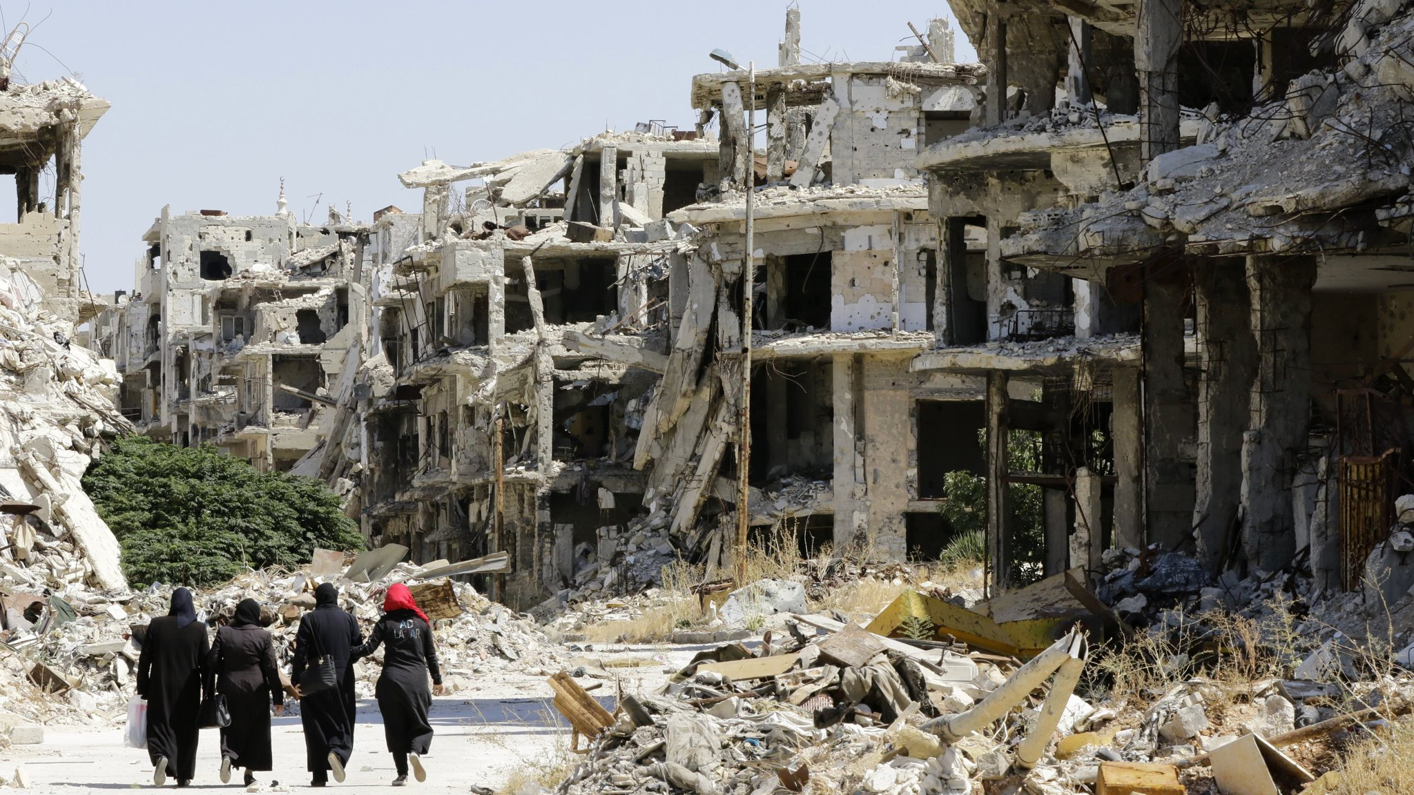 Russia presses EU to pay up for rebuilding Syria