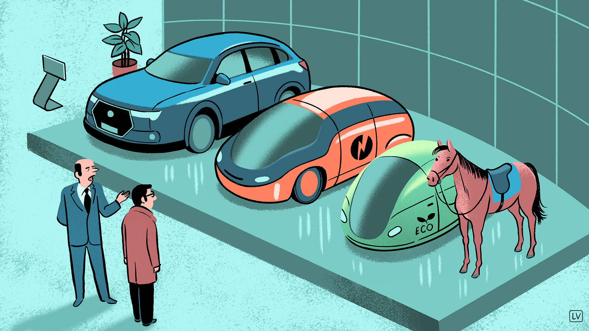 I want an electric car – but not right now