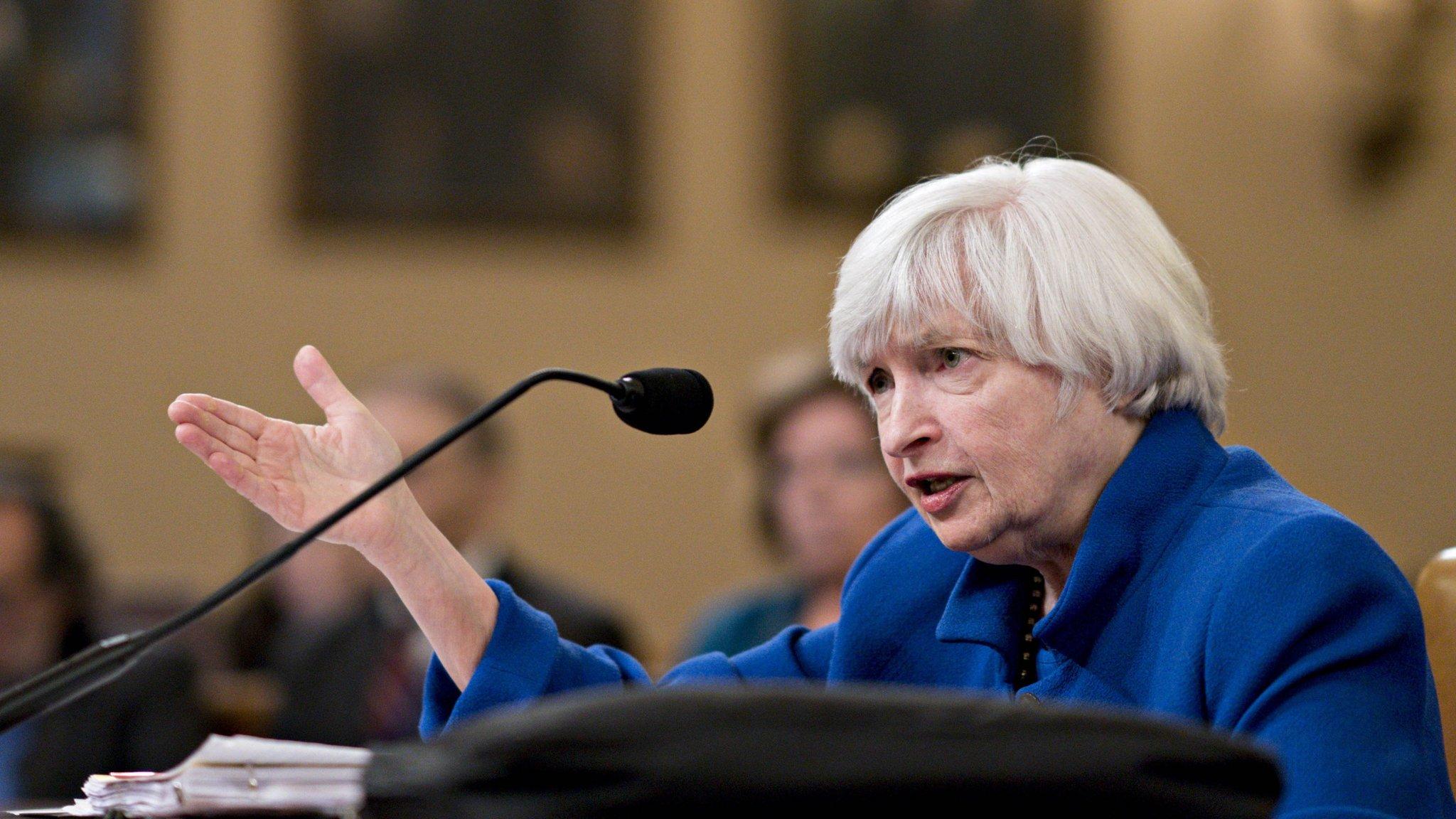 Yellen warns on outlook for surging US public debt