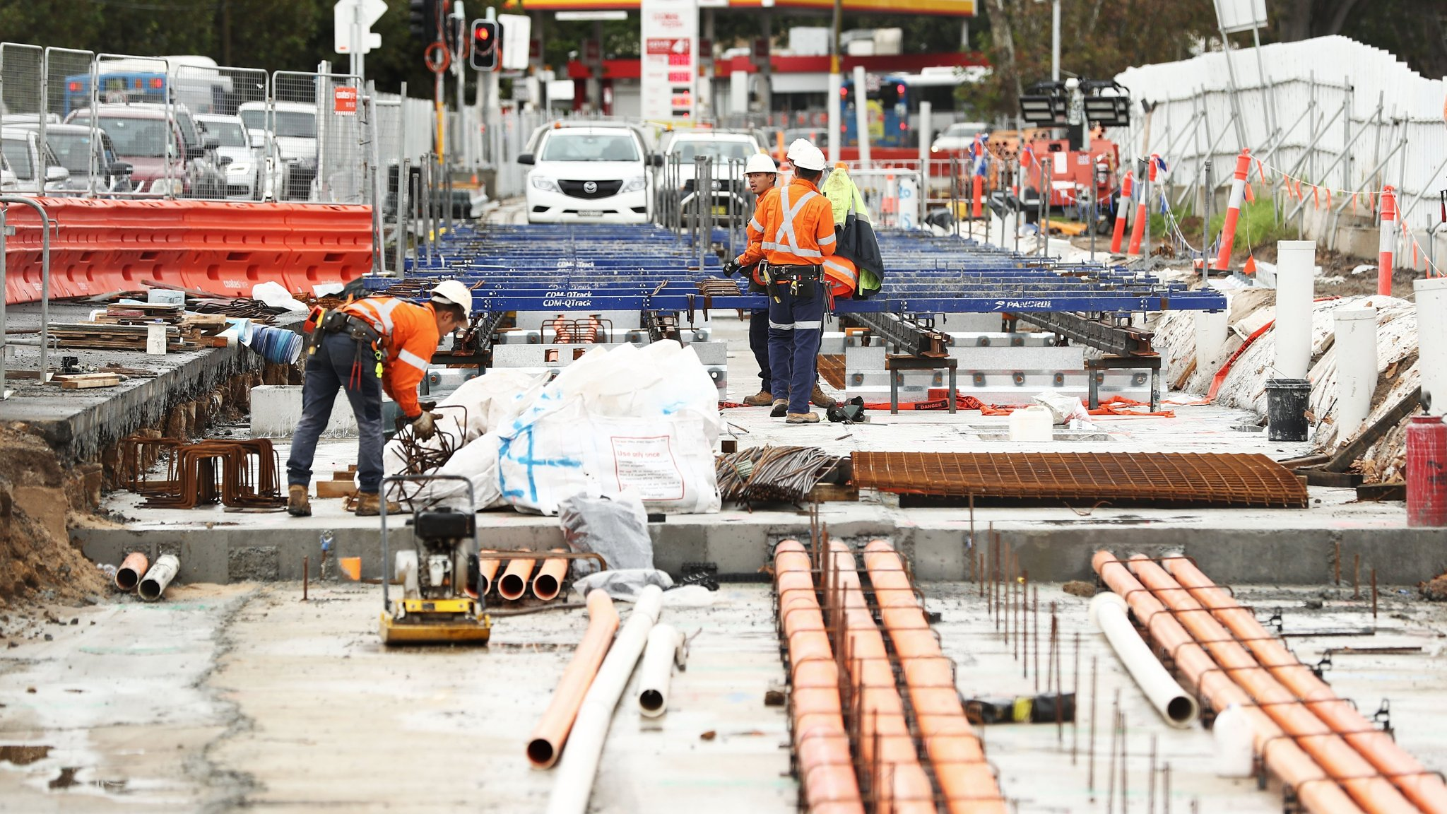 Australia's infrastructure boom rests on shaky footing