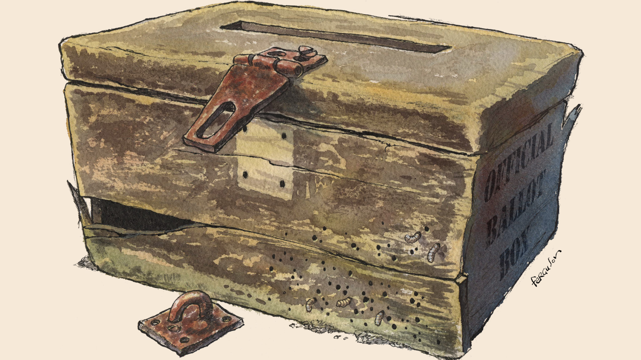 War trunks of ordinary Americans