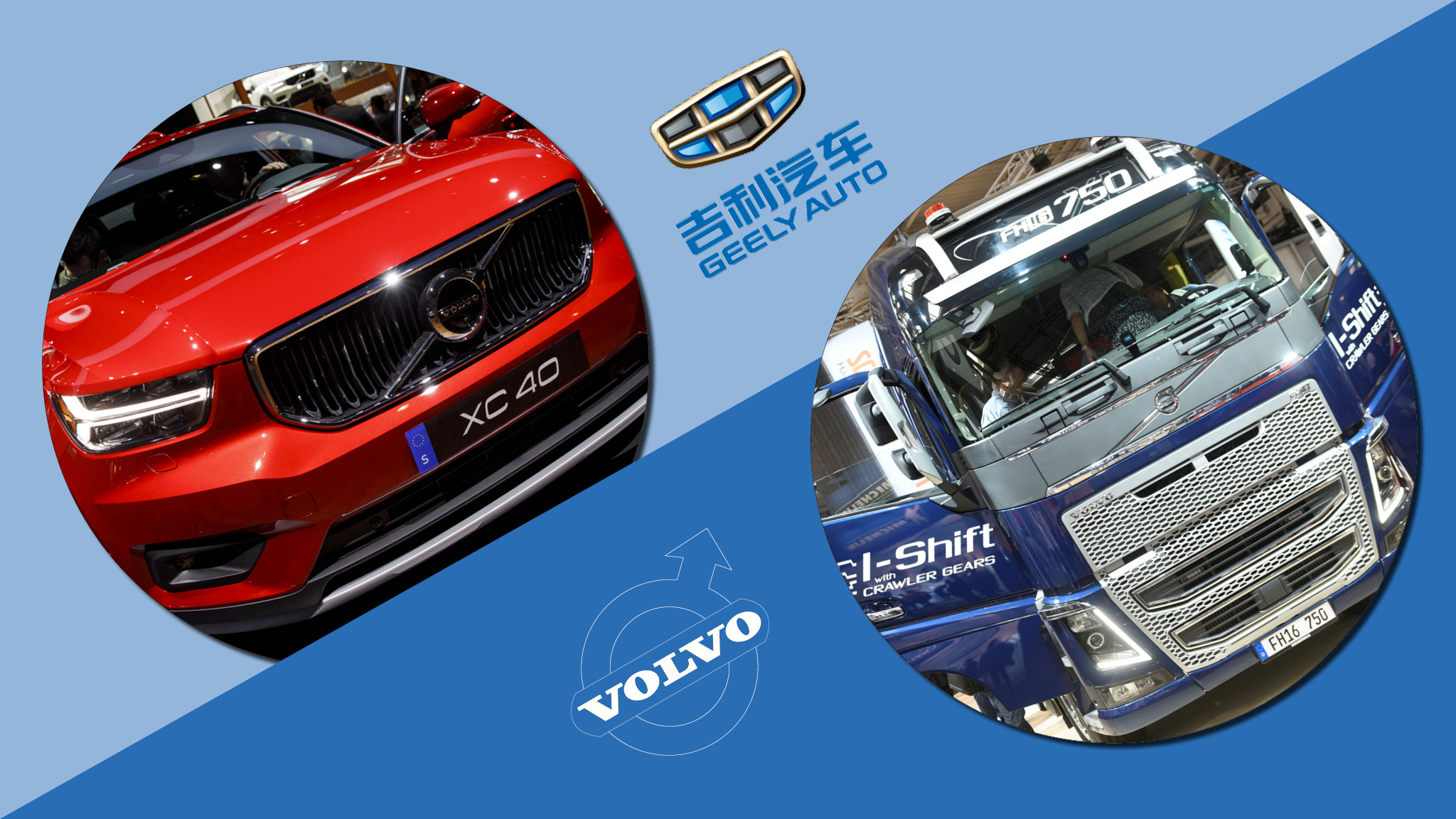 Geely goes against the grain with Volvo stakebuilding