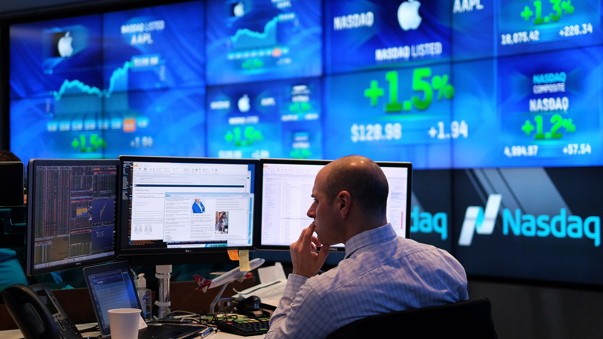 Nasdaq After Hours Quote Glitch Resets Multiple Nasdaq Tech Stocks To Same Price