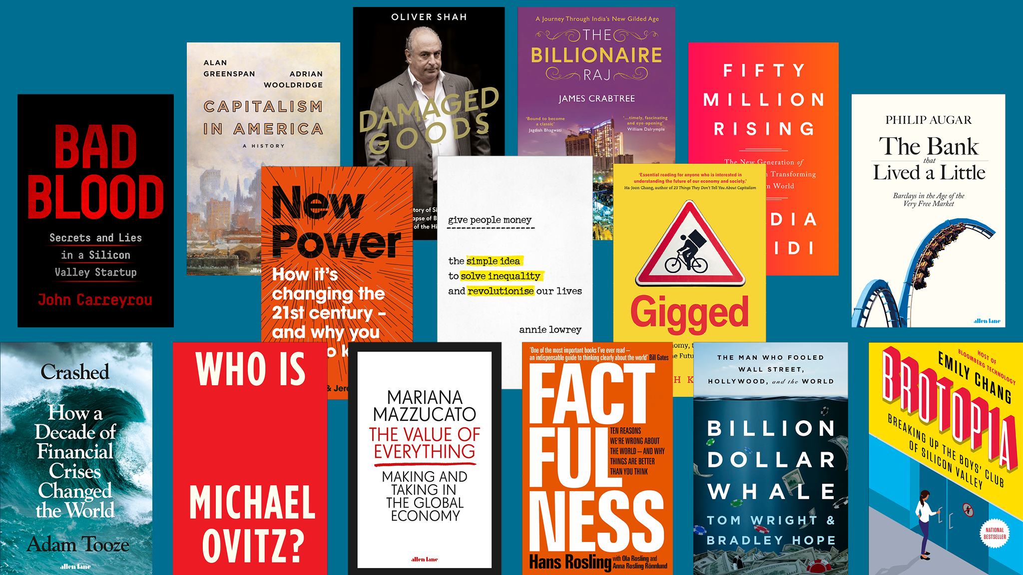 Business Book Of The Year 2018 The Longlist Financial Times