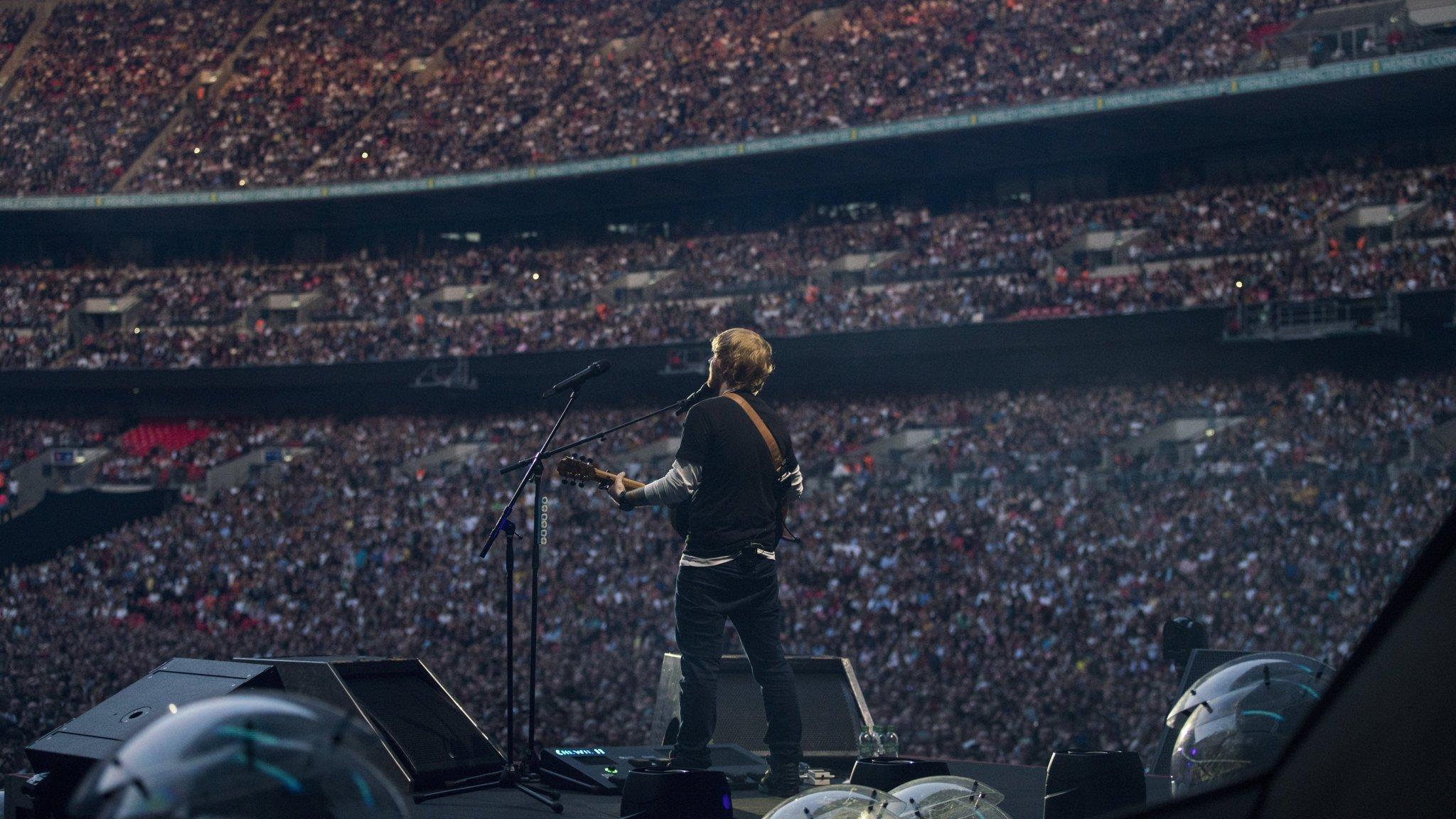 Ed Sheeran's Divide Tour Made Him Highest Paid Solo Artist ...
