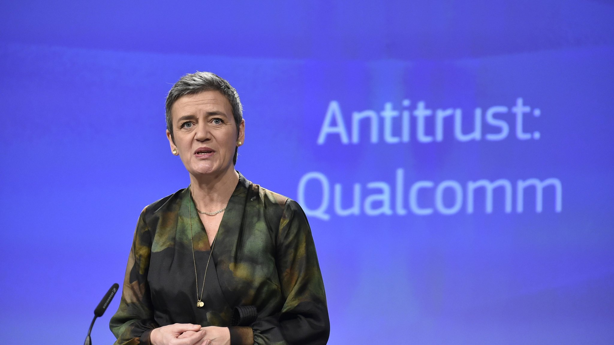 EU hits Qualcomm with €997m fine for abusing its dominance