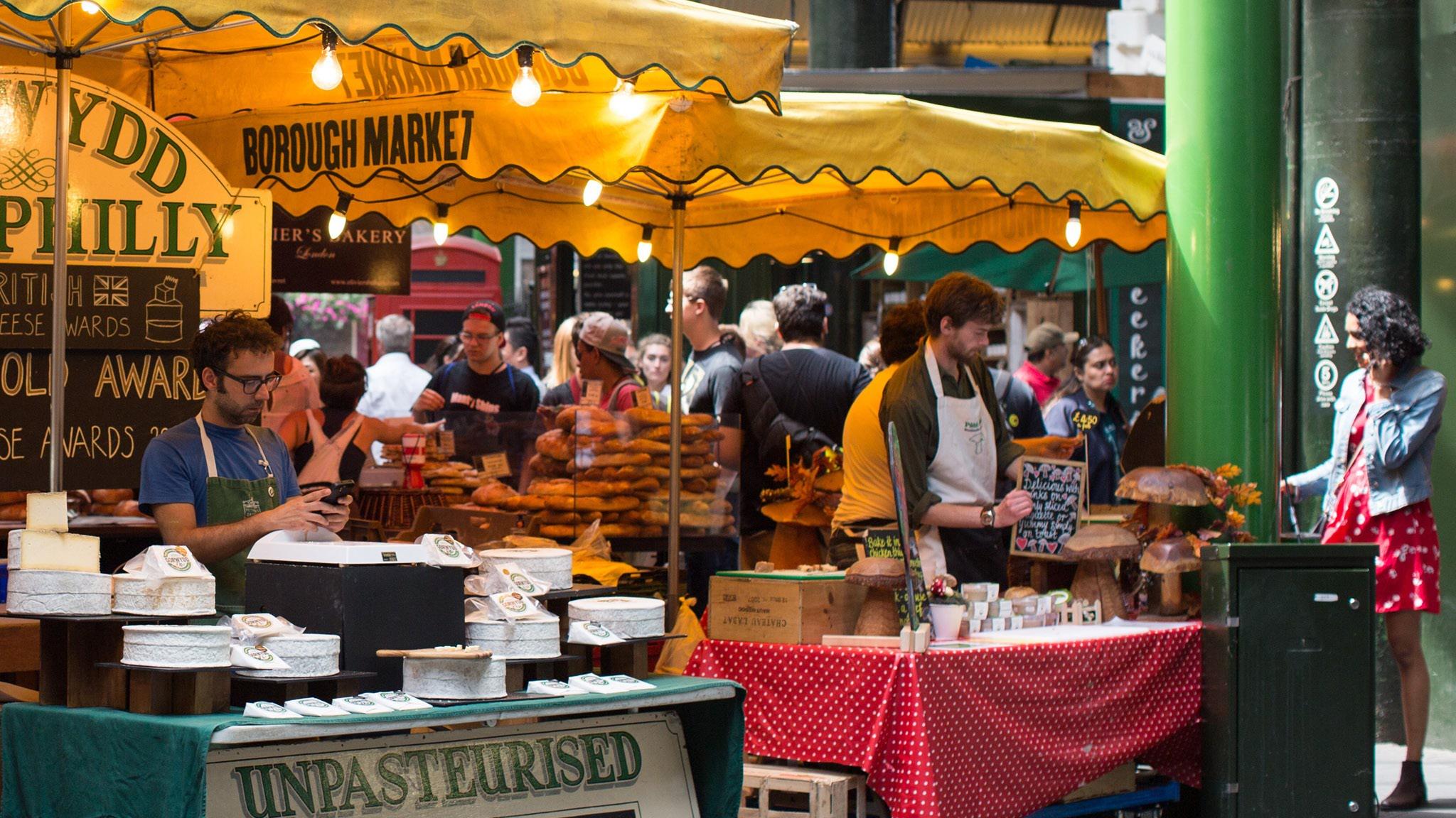 Risultati immagini per borough market london boston sausages