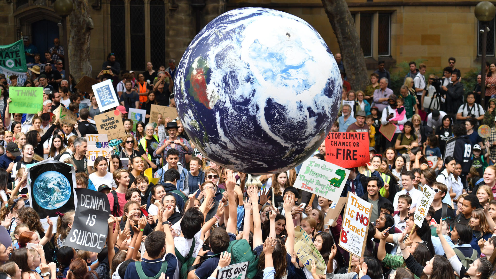 Image result for climate change protests