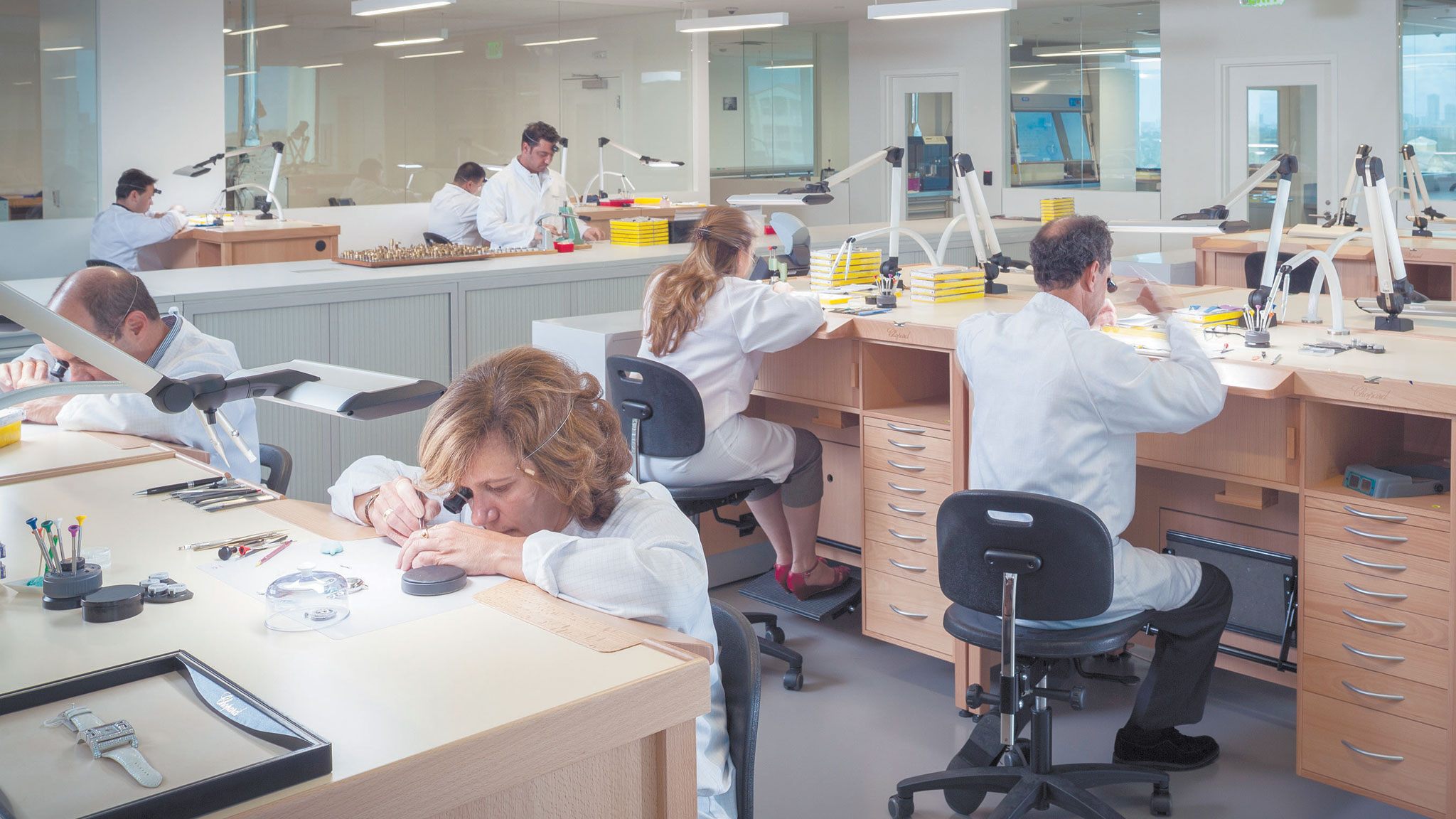 Patek Philippe and Chopard expand US aftersales watch workshops
