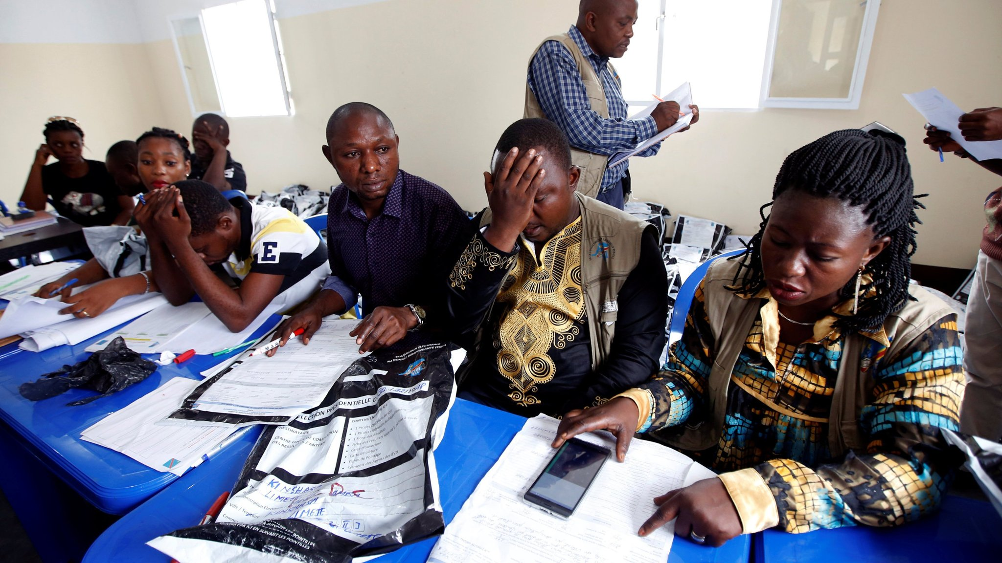 Congo Voting Data Reveal Huge Fraud In Poll To Replace Kabila Financial Times