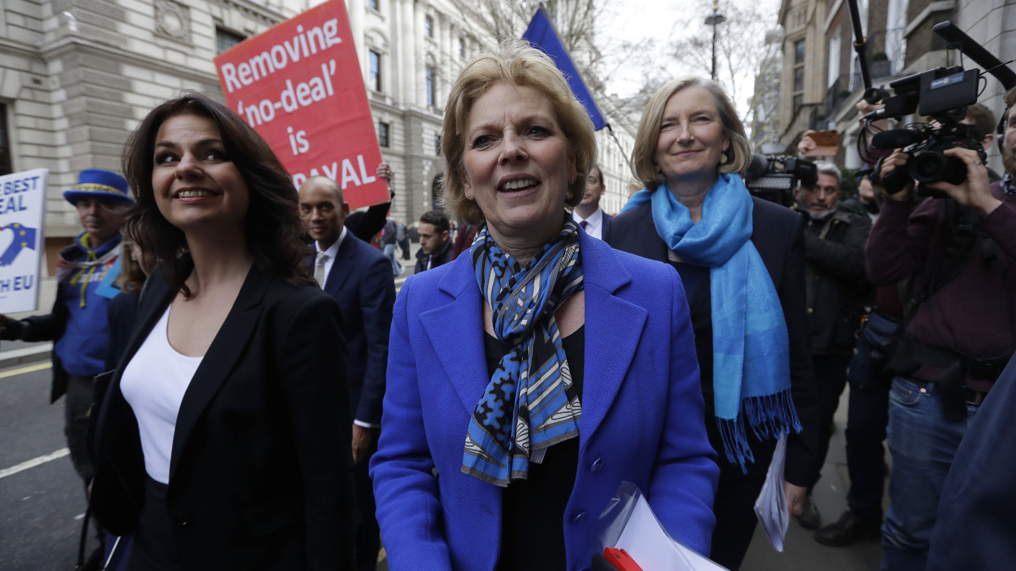 Image result for Three pro-EU Tory MPs defect to independent parliamentary group
