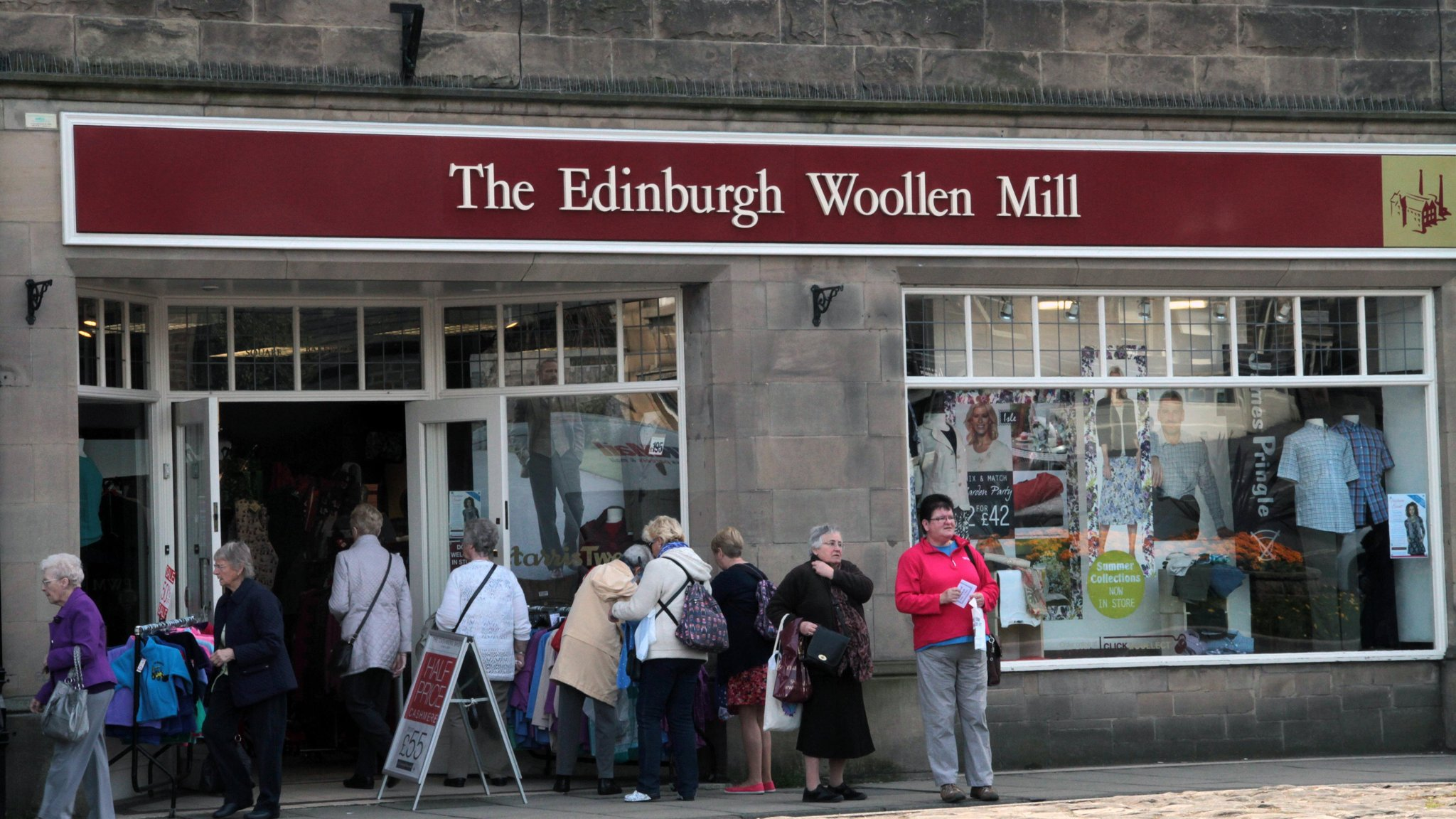 Edinburgh Woollen Mill Crops Up In Uk Bid Battles Financial Times