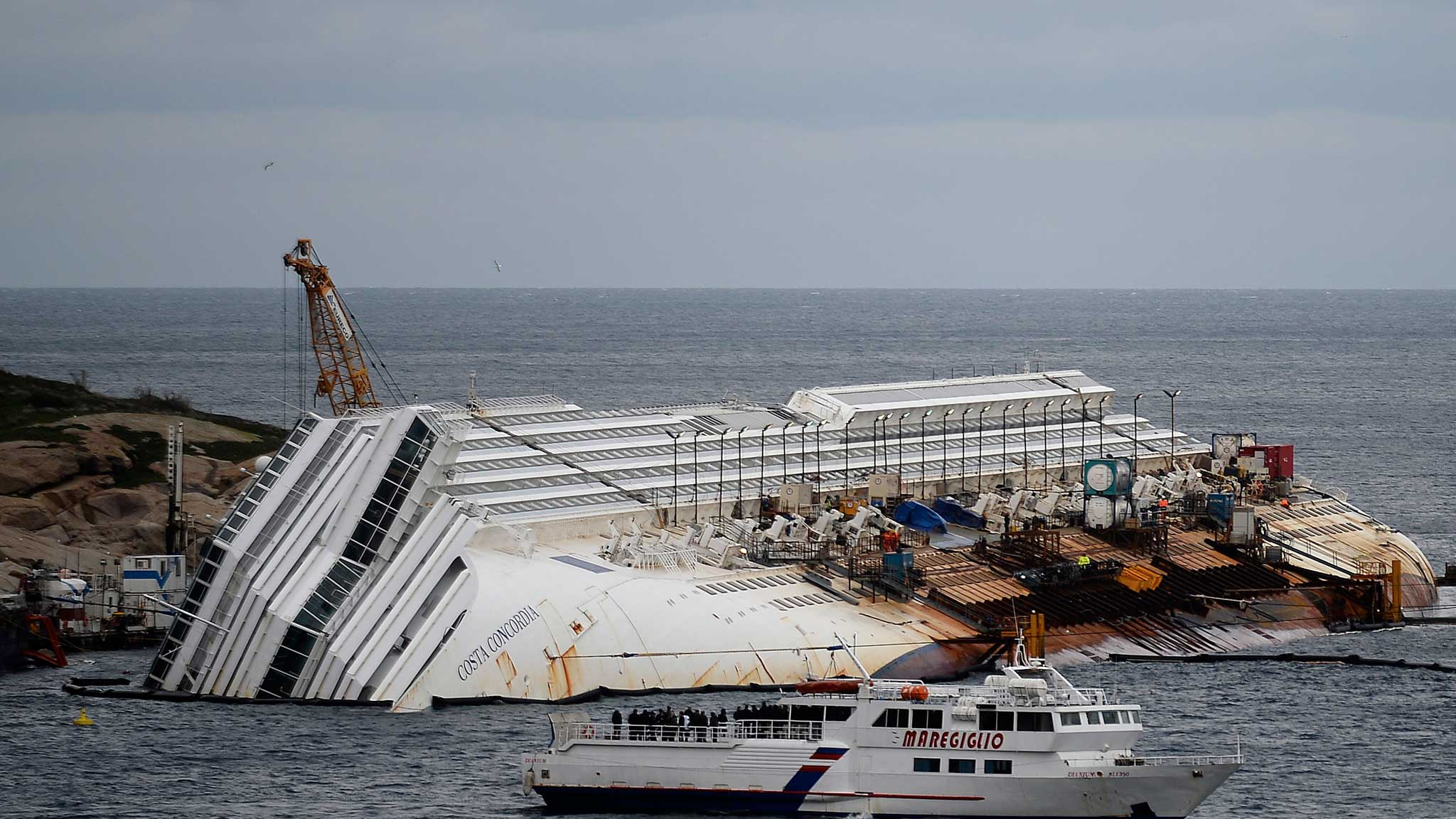 Catlin annoyed at Costa Concordia costs | Financial Times