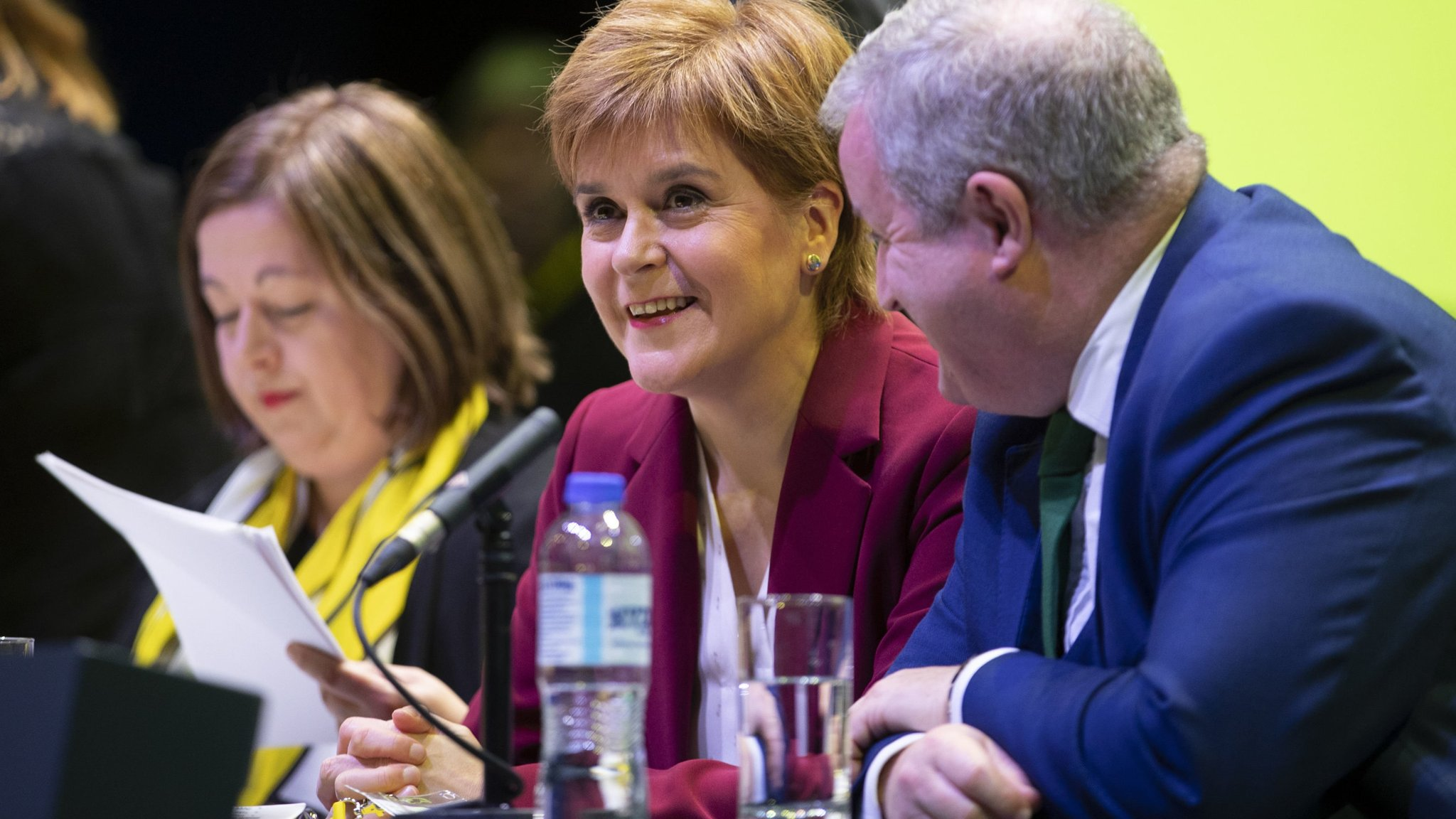 SNP holds firm as pressure grows for second independence vote