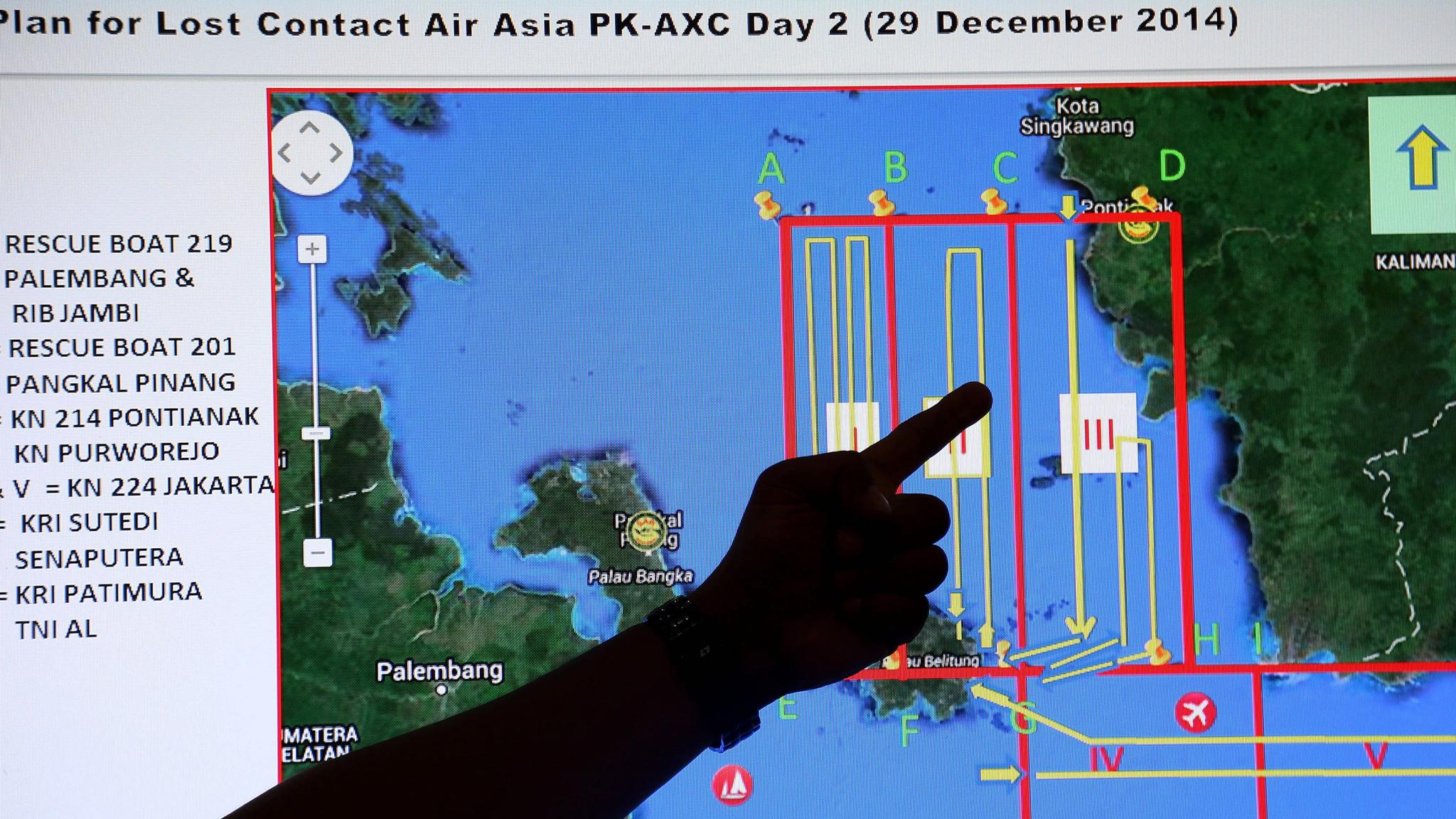 AirAsia QZ8501: Thunderstorms were in missing plane\'s flight path ...