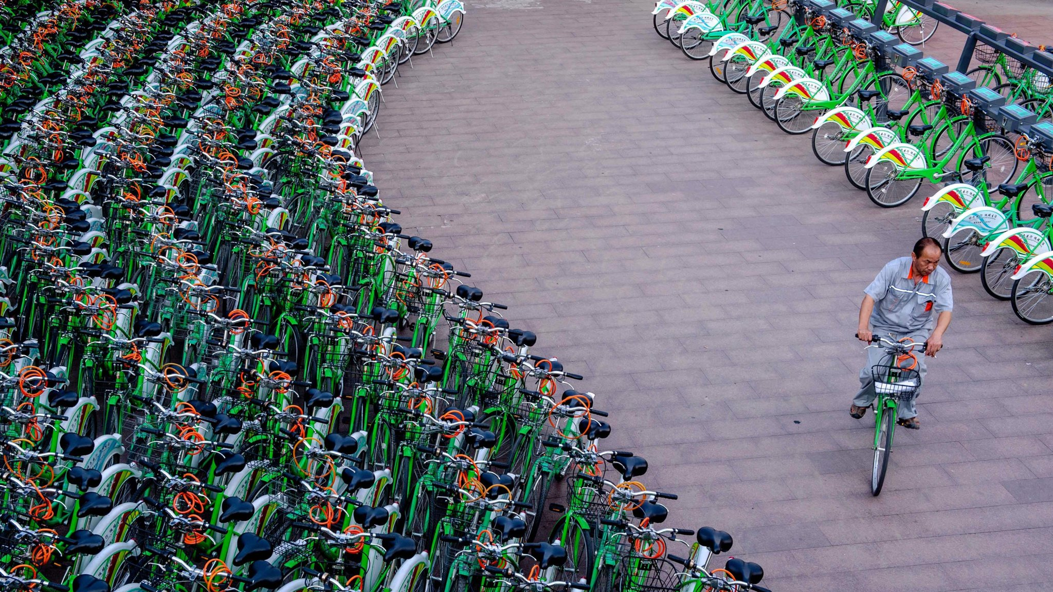 Chinau0027s bike sharing boom in charts