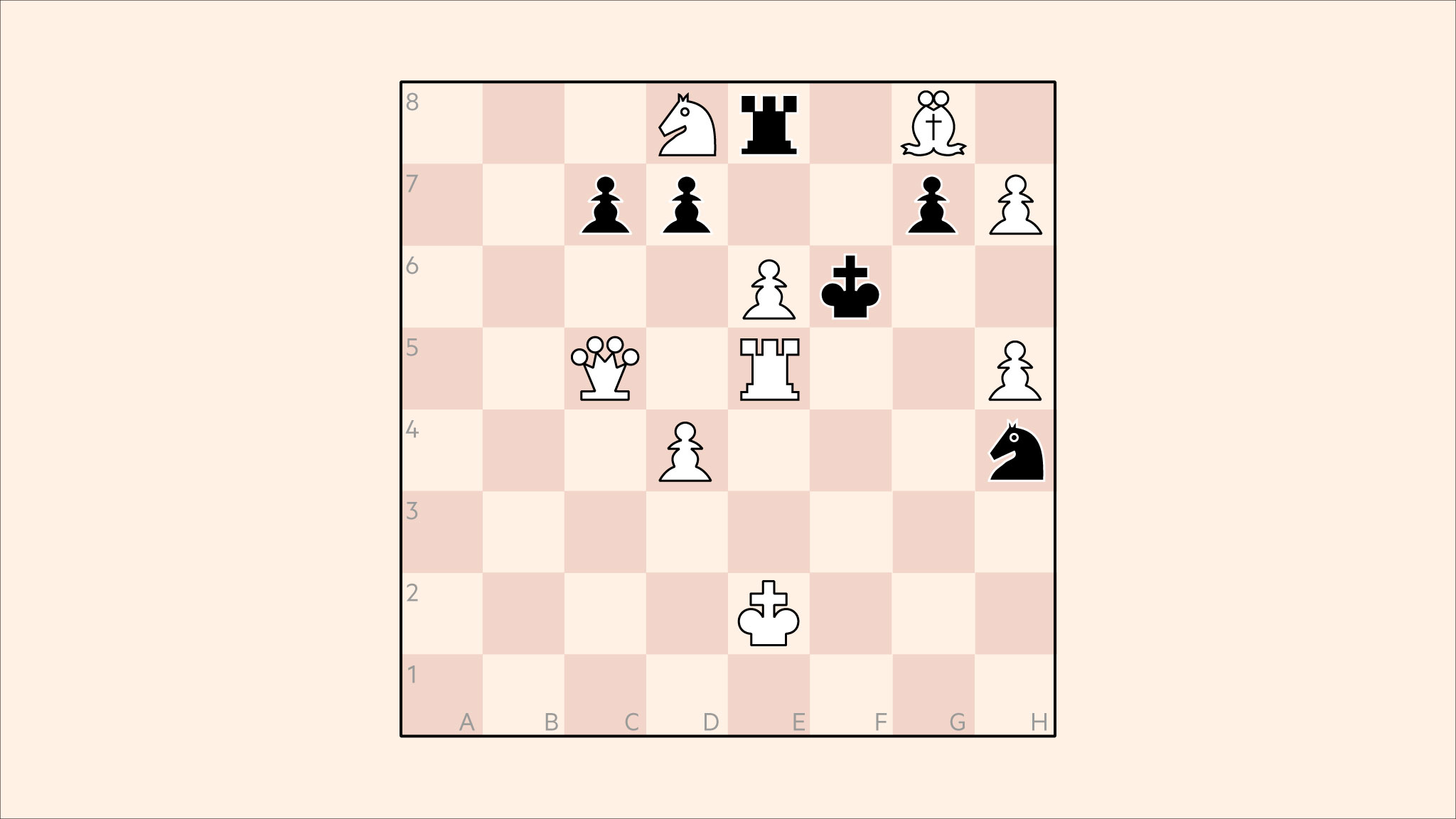 graphic regarding Printable Chess Puzzles referred to as Chess: pressure checkmate inside 2 moves versus any defence