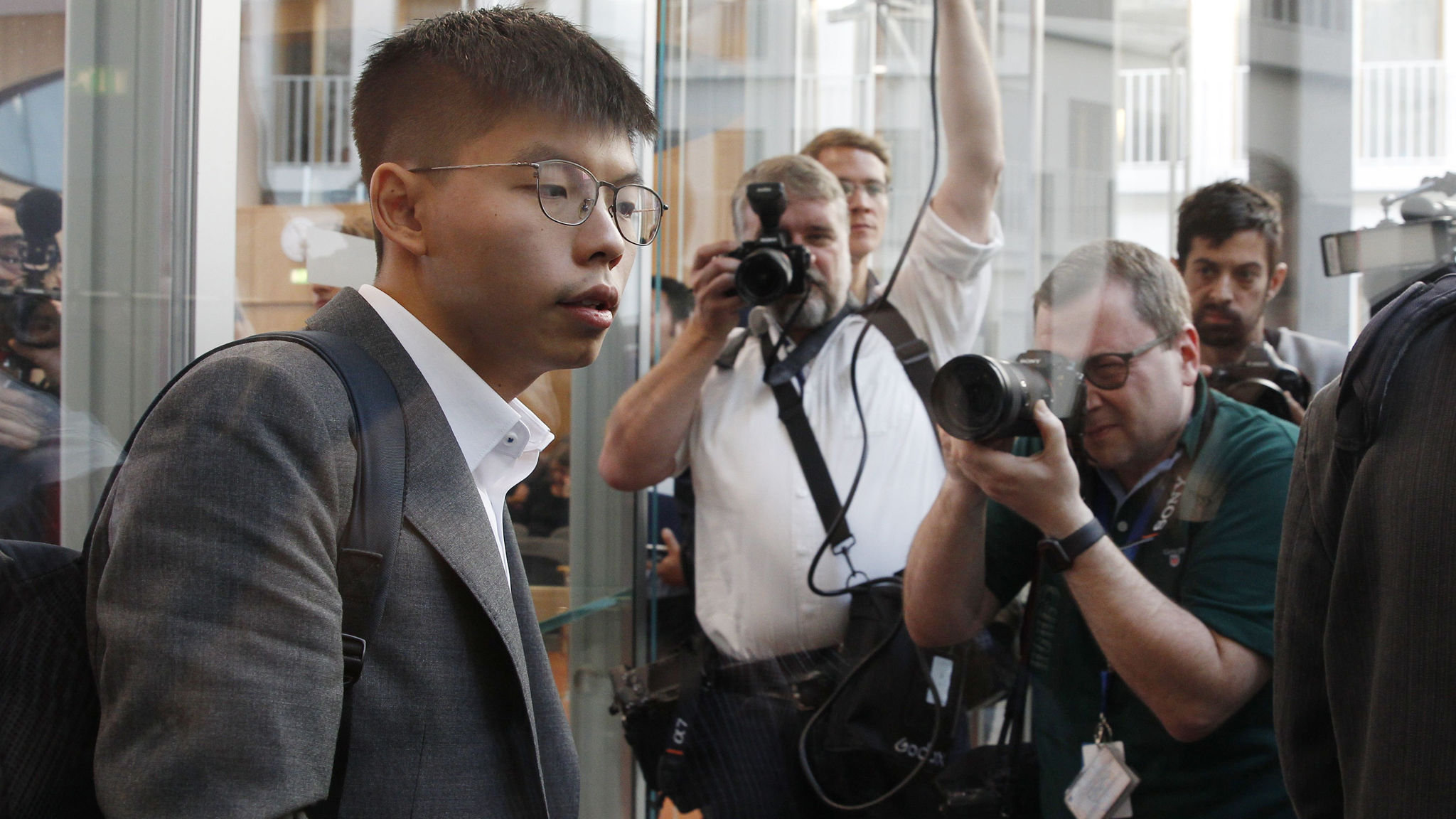 Hong Kong activist calls for more support from Europe