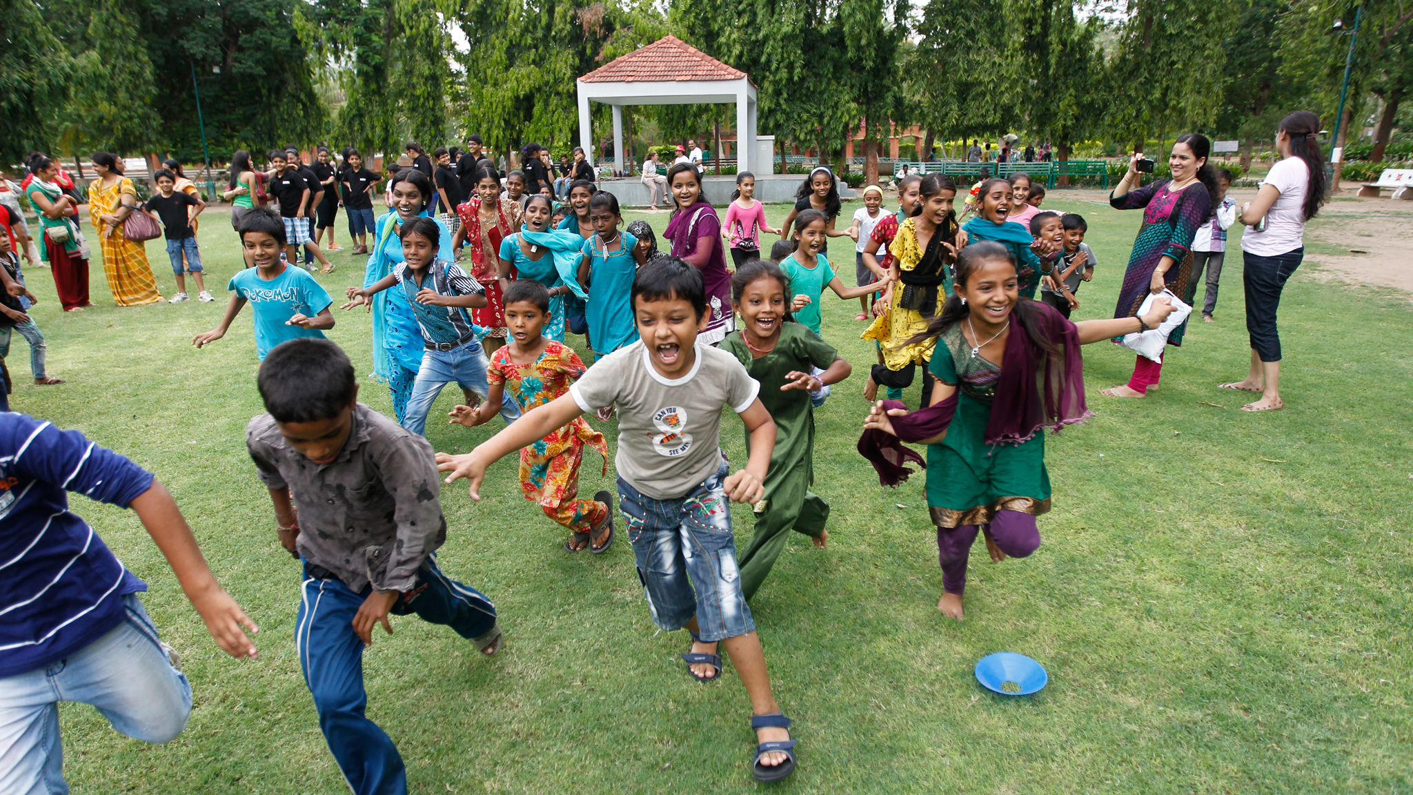 Indian children reclaim their space and respect