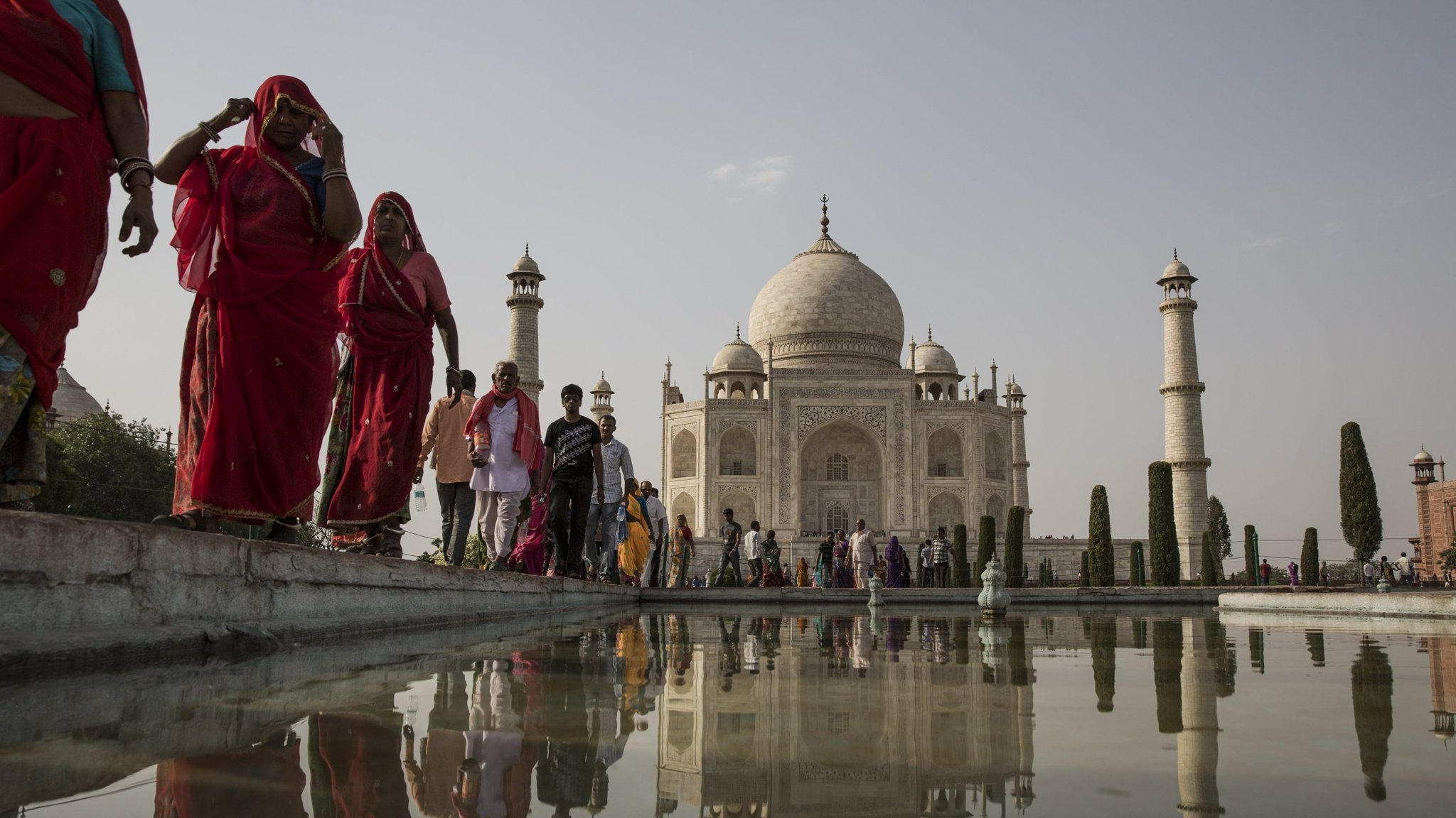 The Taj Mahal is caught in a tug of war over Indian identity