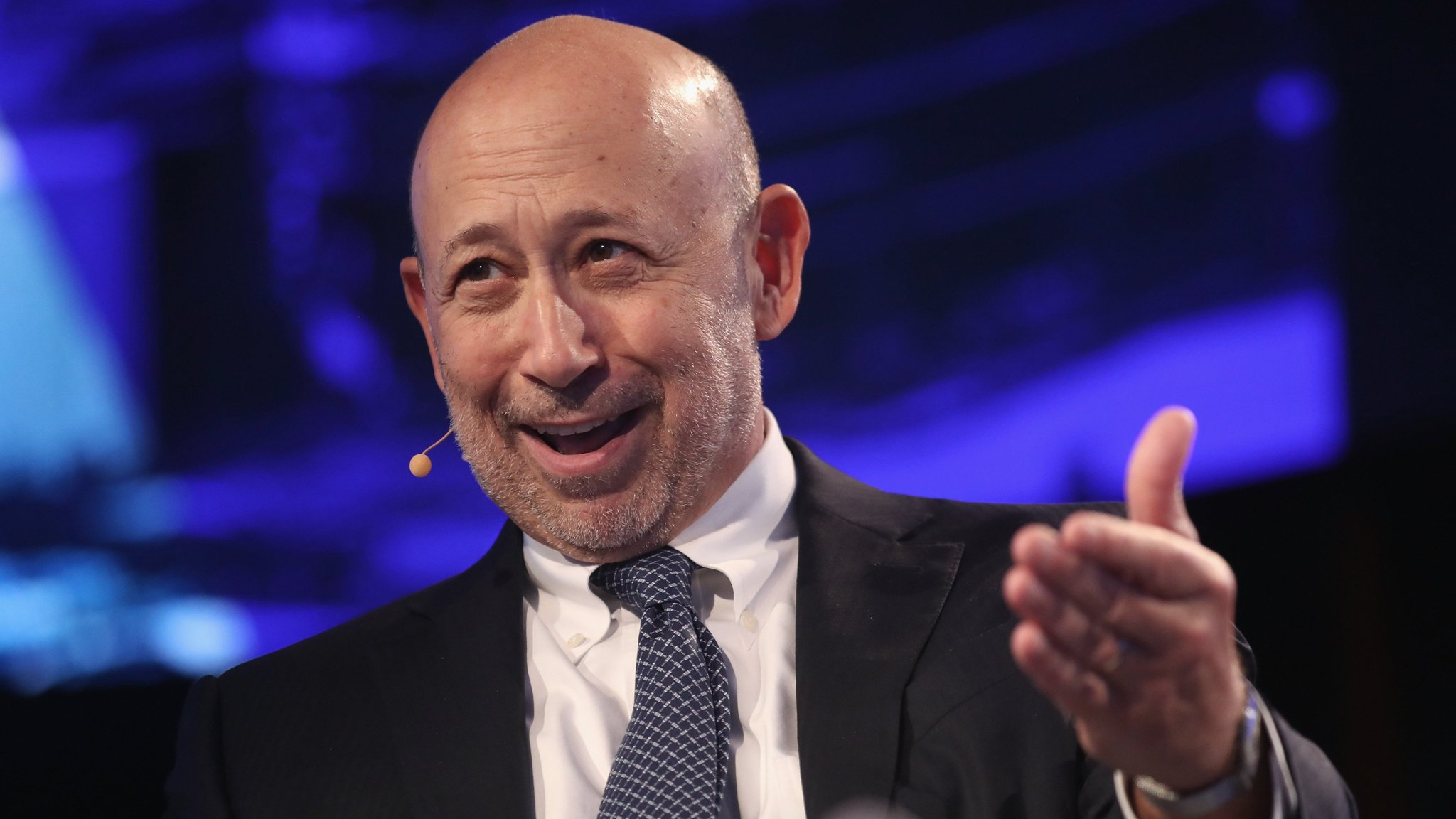 Lloyd Blankfein raises prospect of being replaced by co-chiefs