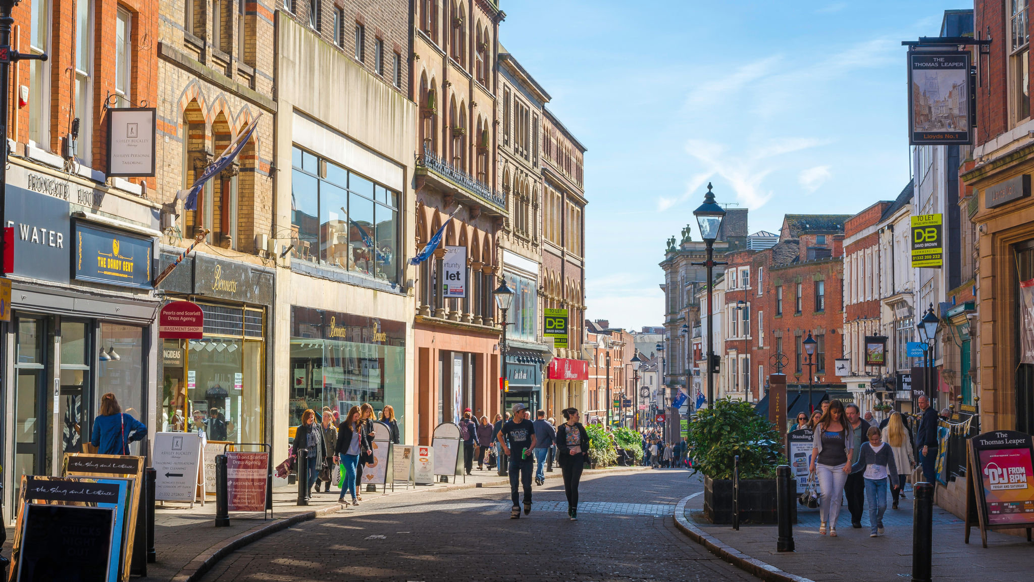 Uk Urban Developers Aim To Lure Affluent Achievers Back To Derby Financial Times