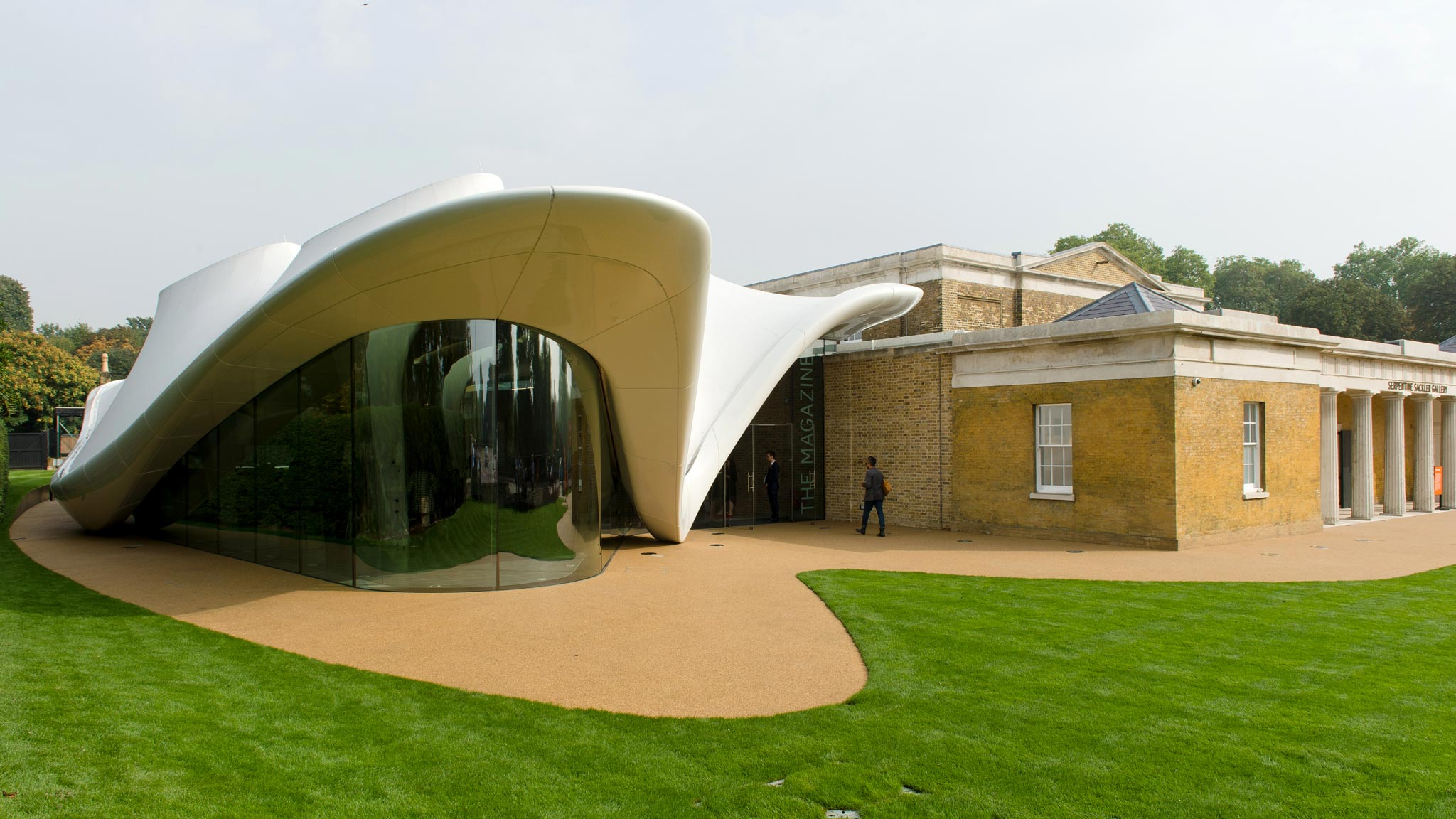 Zaha Hadid S Serpentine Sackler Gallery The Verdict