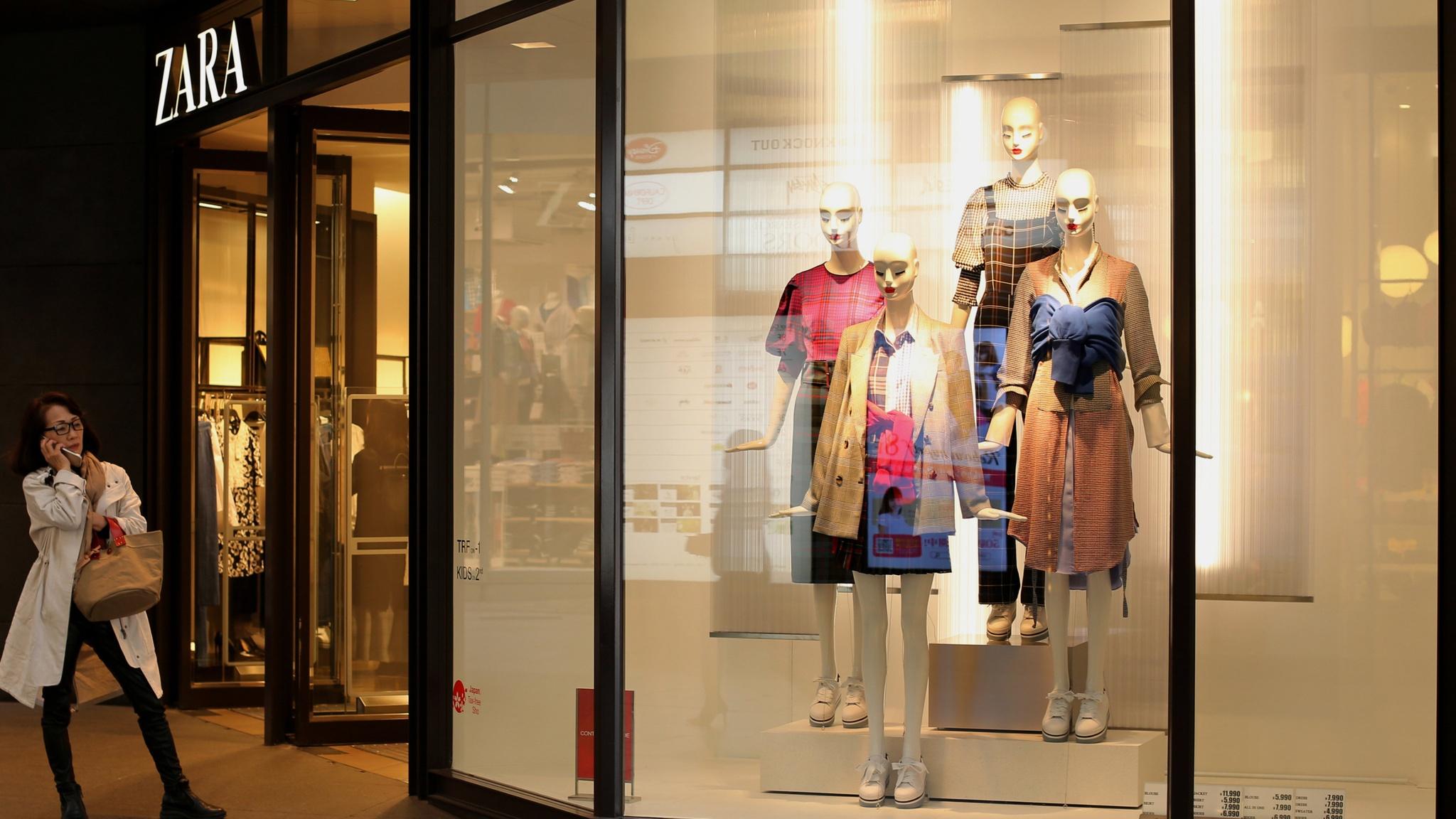 Zara parent Inditex lifts dividend on higher online sales