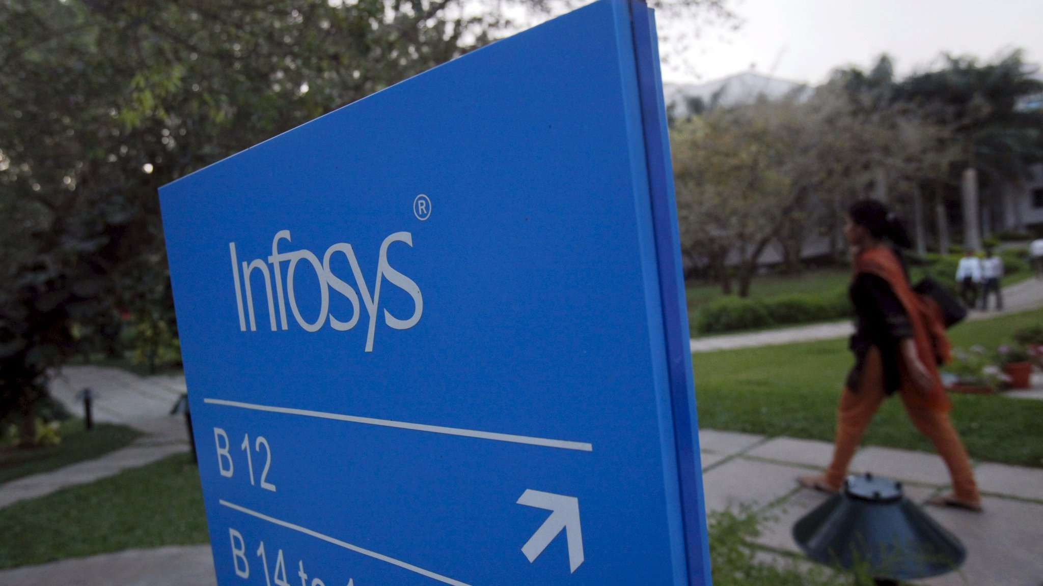 Infosys Boosts Full Year Sales Forecast
