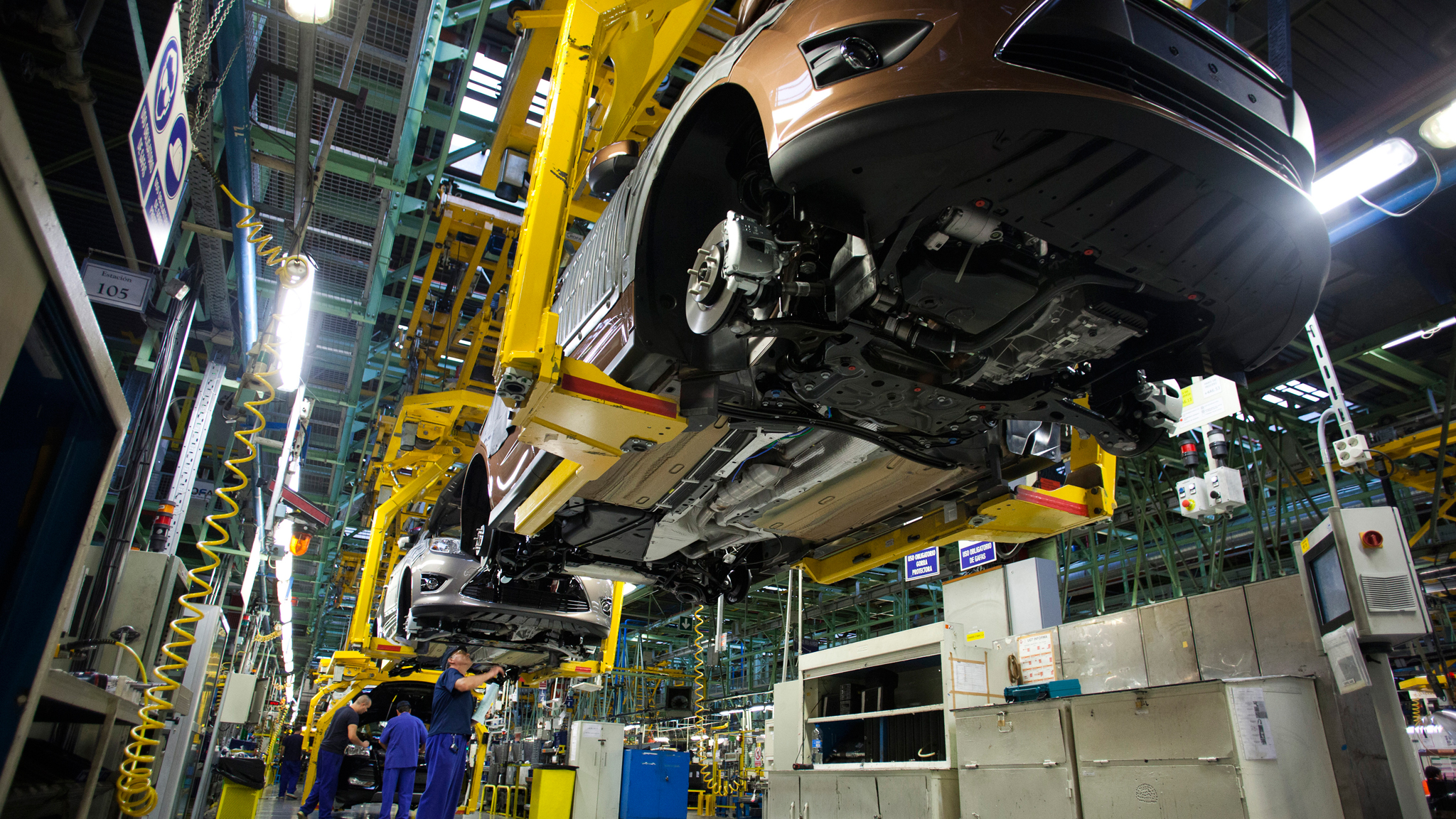 Spain S Car Industry At Heart Of Nascent Recovery Financial Times