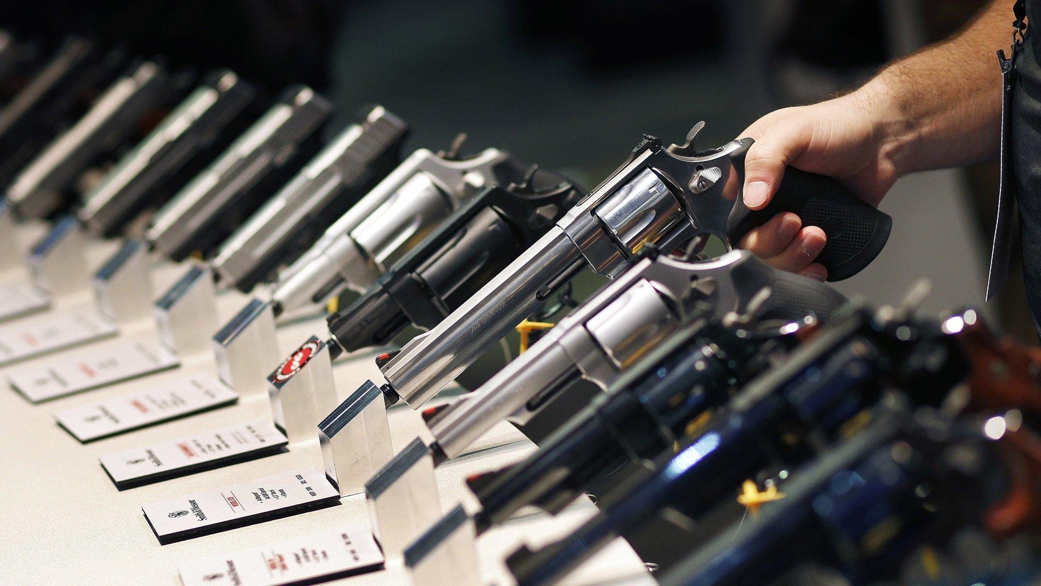 Gunmaker shares slide as 'fear-based buying' recedes