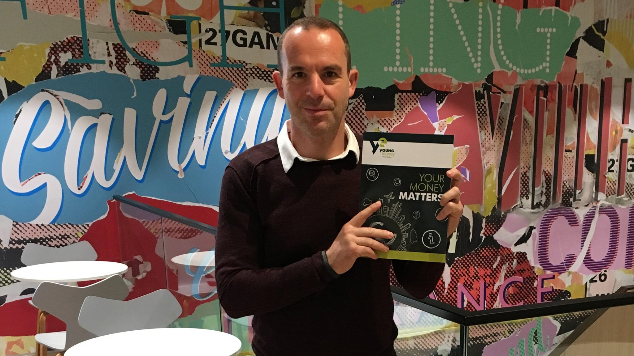 Martin Lewis launches finance textbook for schools
