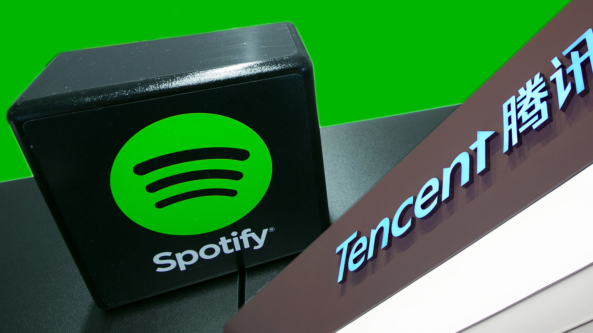 Tencent and Spotify buy minority stakes in each other