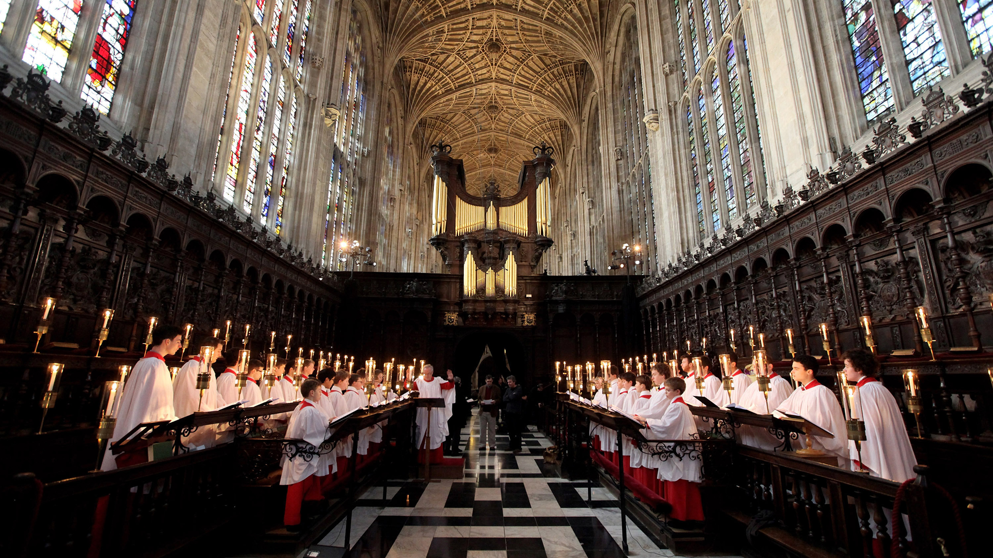 Carols From Kings College Cambridge Are The Days Of All