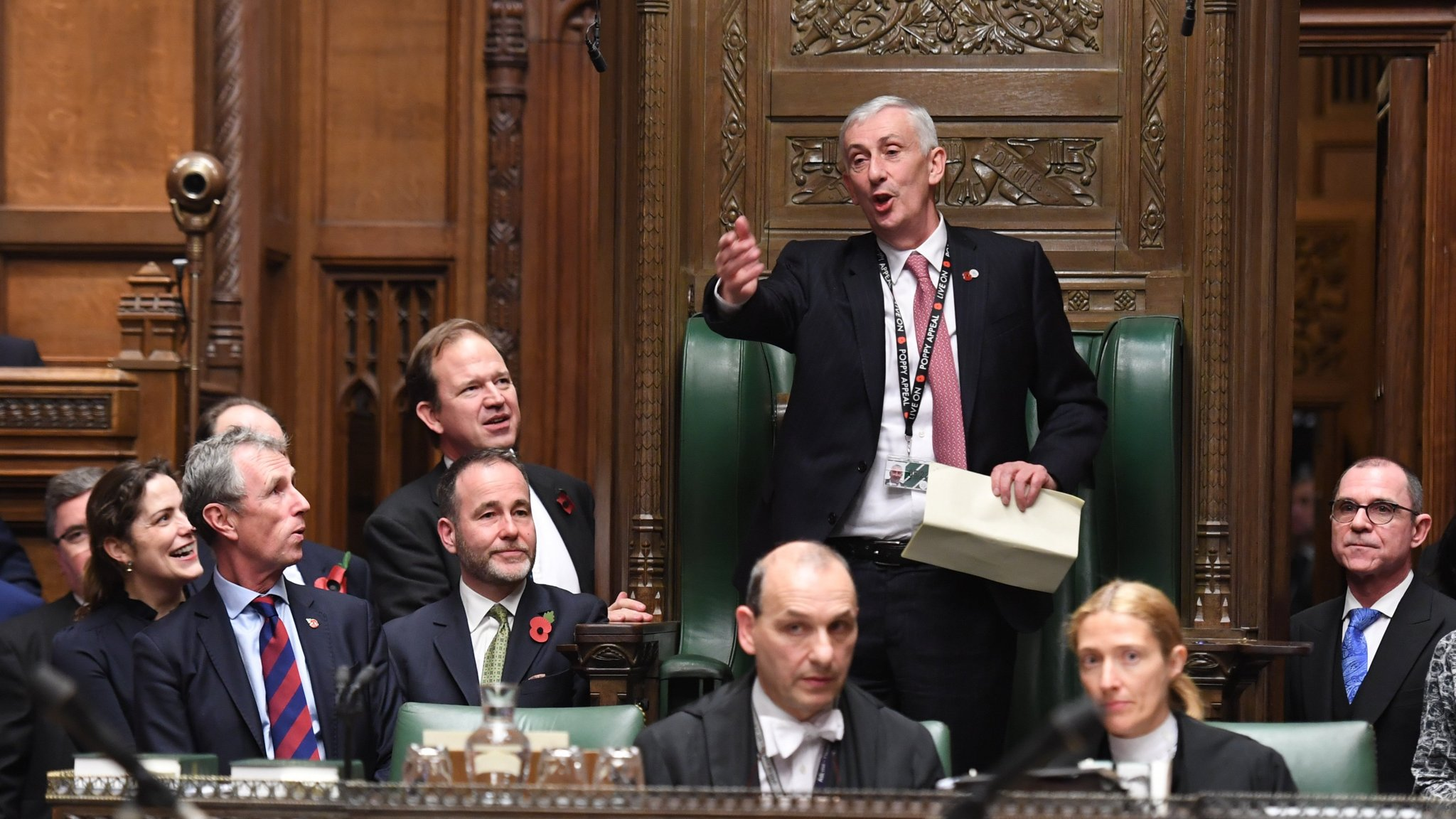 Sir Lindsay Hoyle elected as House of Commons Speaker | Financial Times
