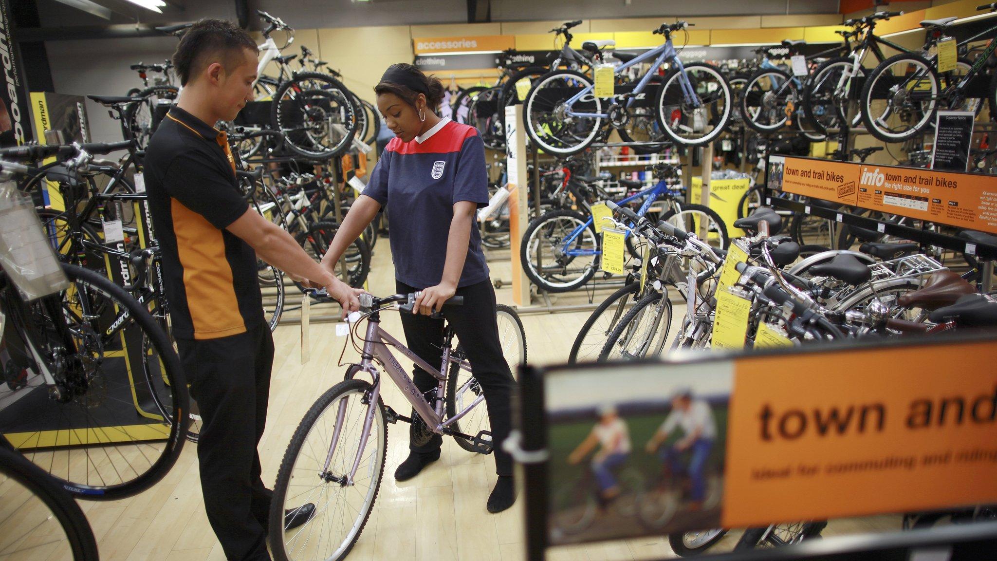 Halfords falls on fears of weaker bike sales | Financial Times